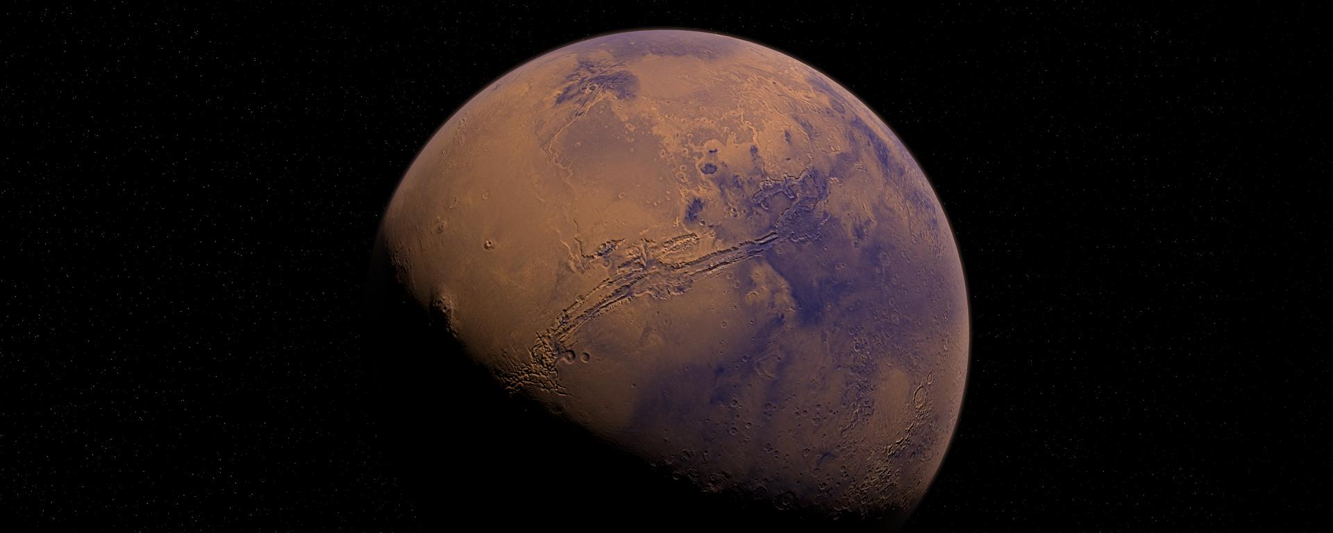 Marte (imagen referencial) - Sputnik Mundo, 1920, 12.02.2021