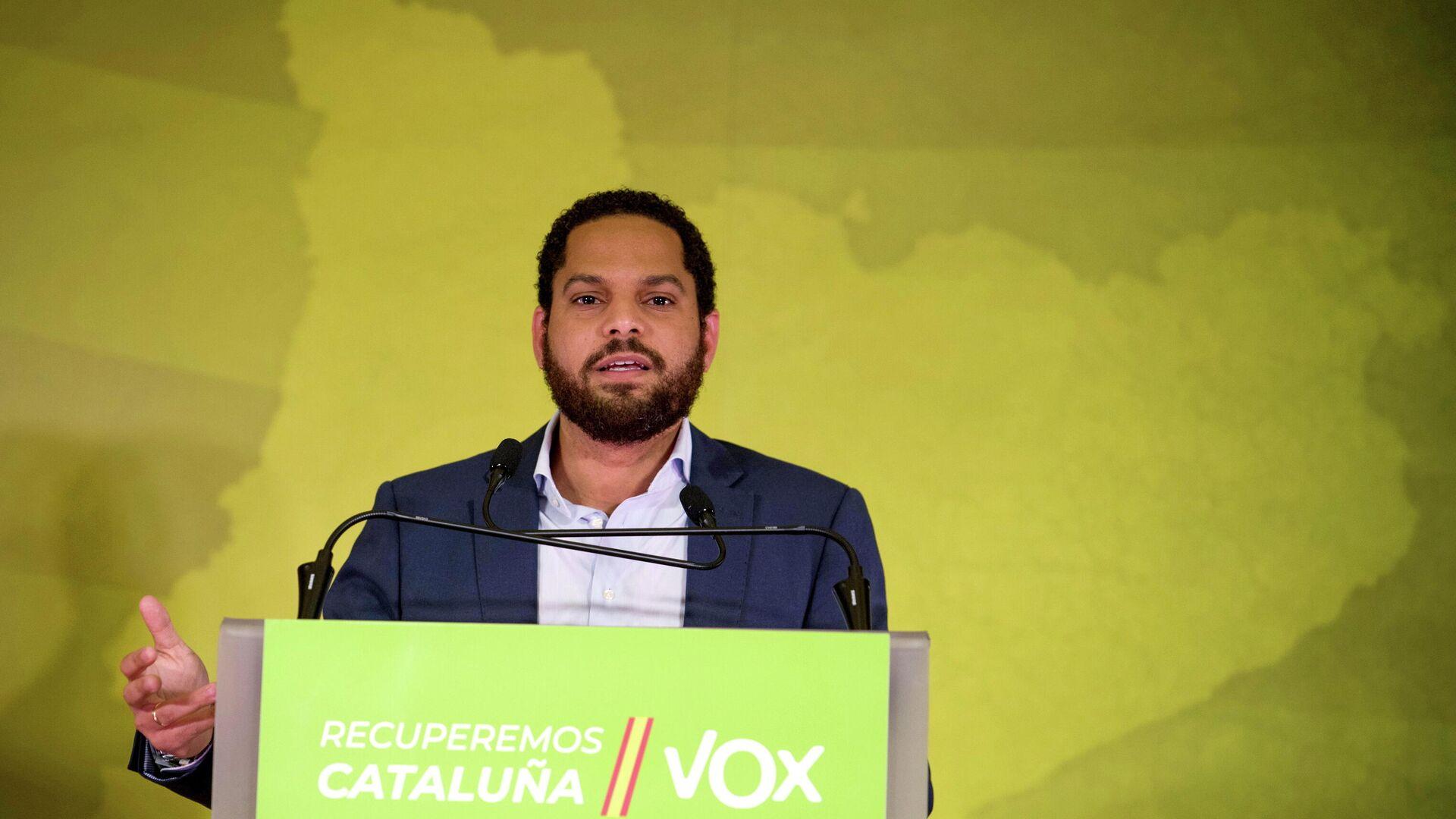 Ignacio Garriga, candidato de VOX en las parlamentarias de Cataluña  - Sputnik Mundo, 1920, 15.02.2021