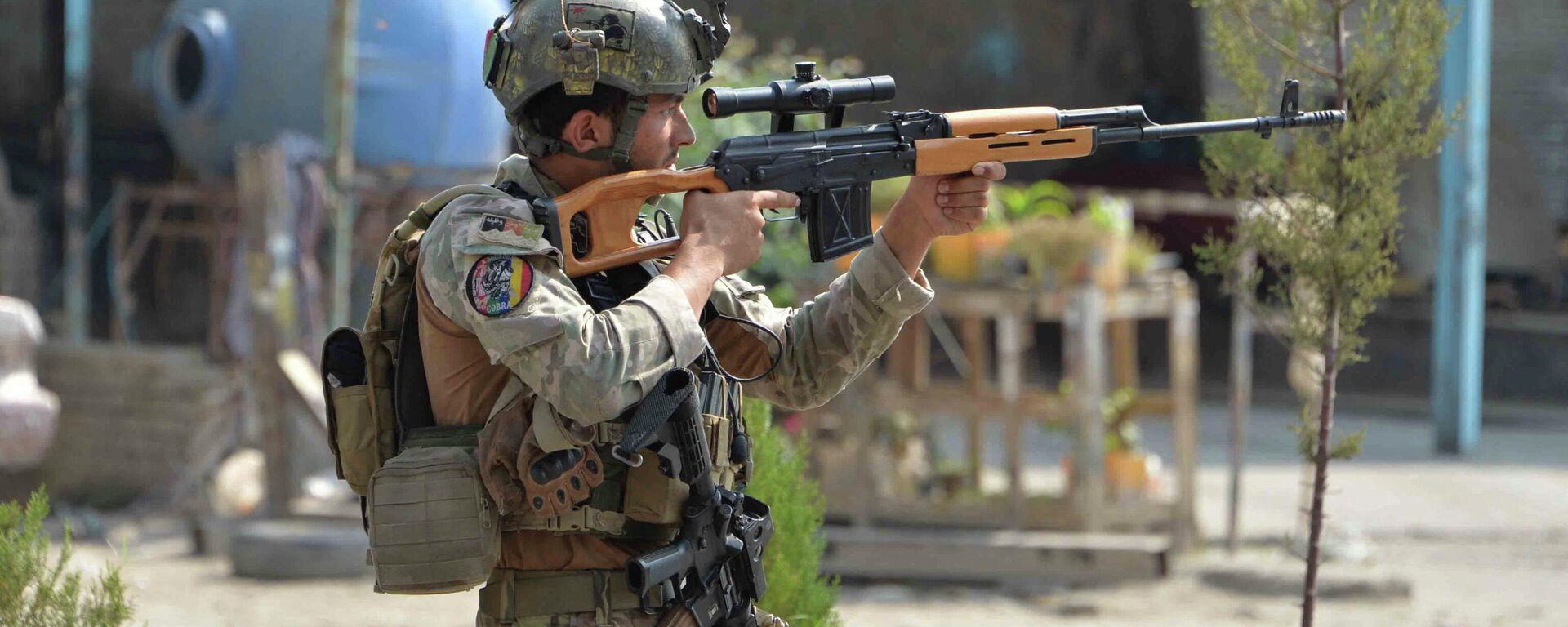 Soldado afgano en Jalalabad, Afganistán - Sputnik Mundo, 1920, 15.08.2021