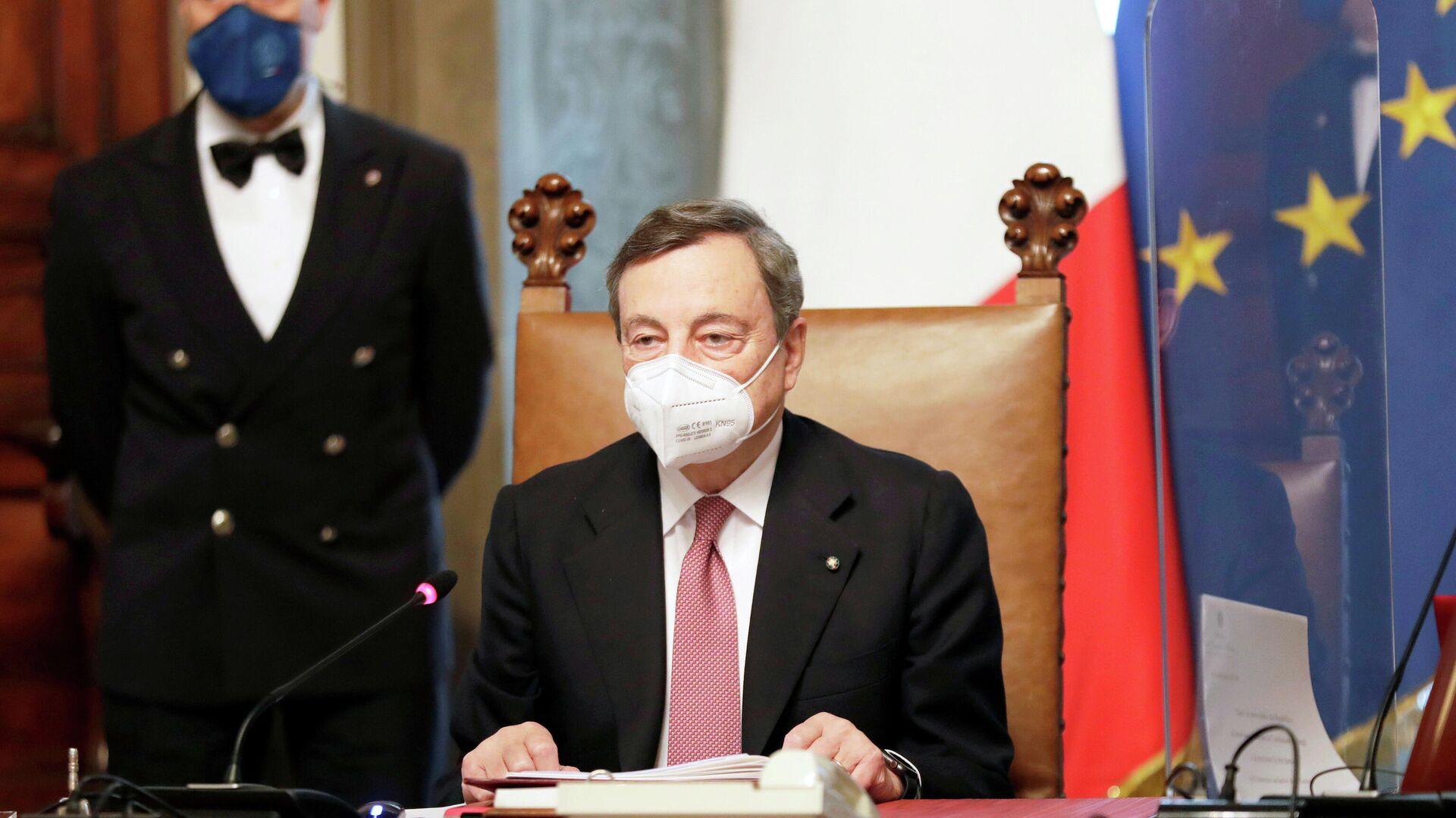 Mario Draghi, nuevo primer ministro de Italia - Sputnik Mundo, 1920, 19.03.2021