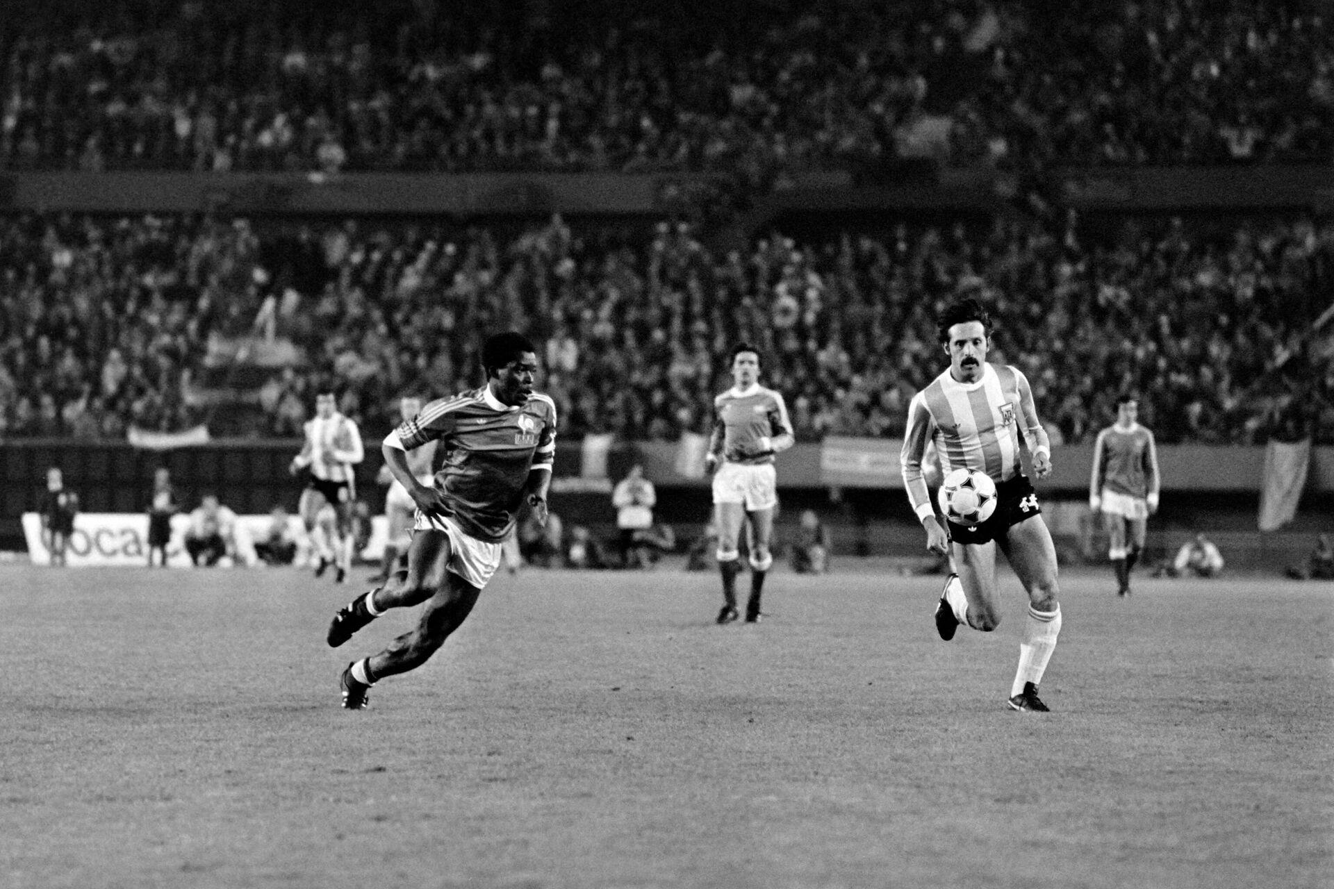 El futbolista argentino Leopoldo Luque durante el del Mundial de 1978 - Sputnik Mundo, 1920, 15.02.2021