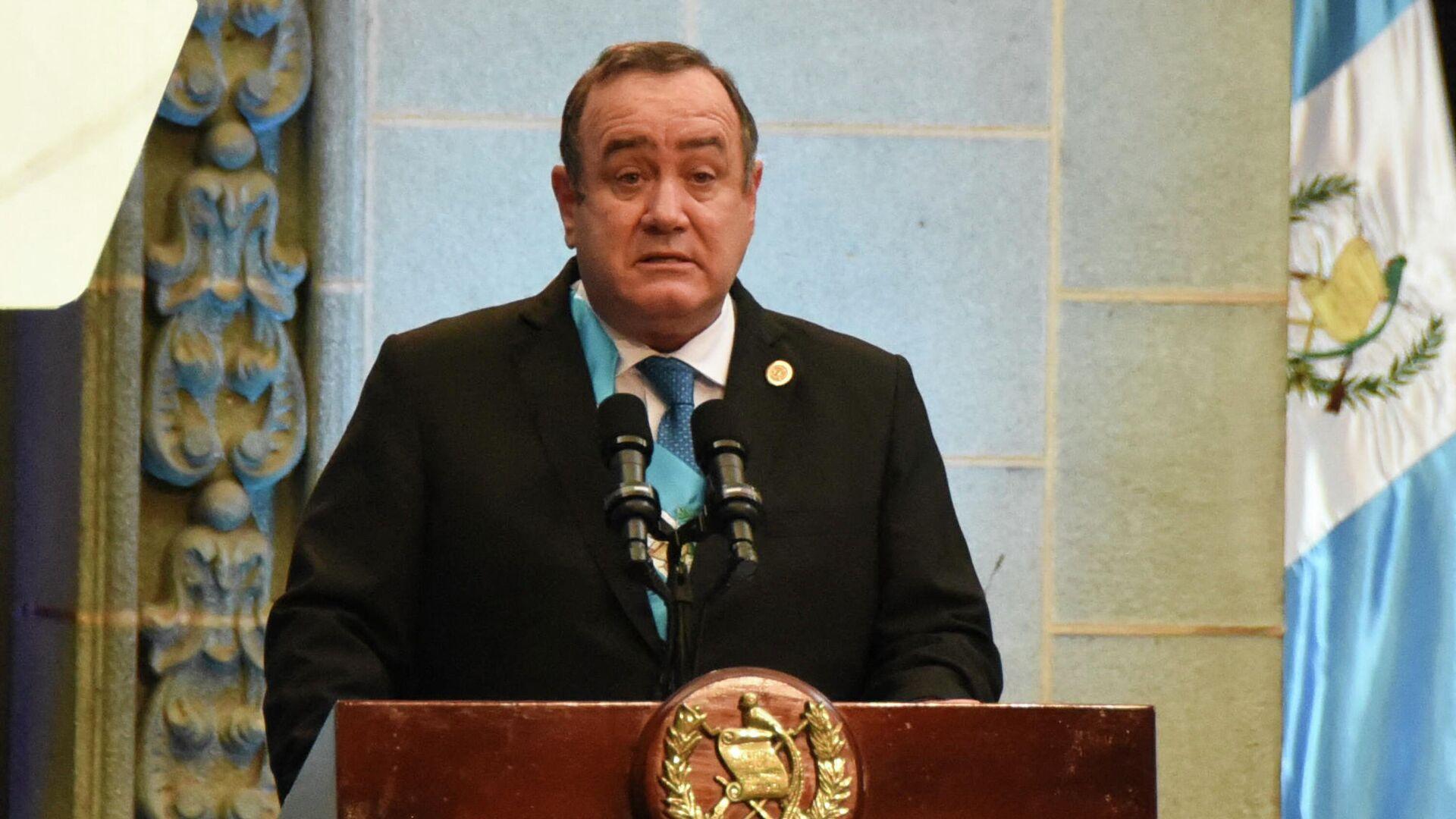 Alejandro Giammattei, presidente de Guatemala - Sputnik Mundo, 1920, 18.09.2021