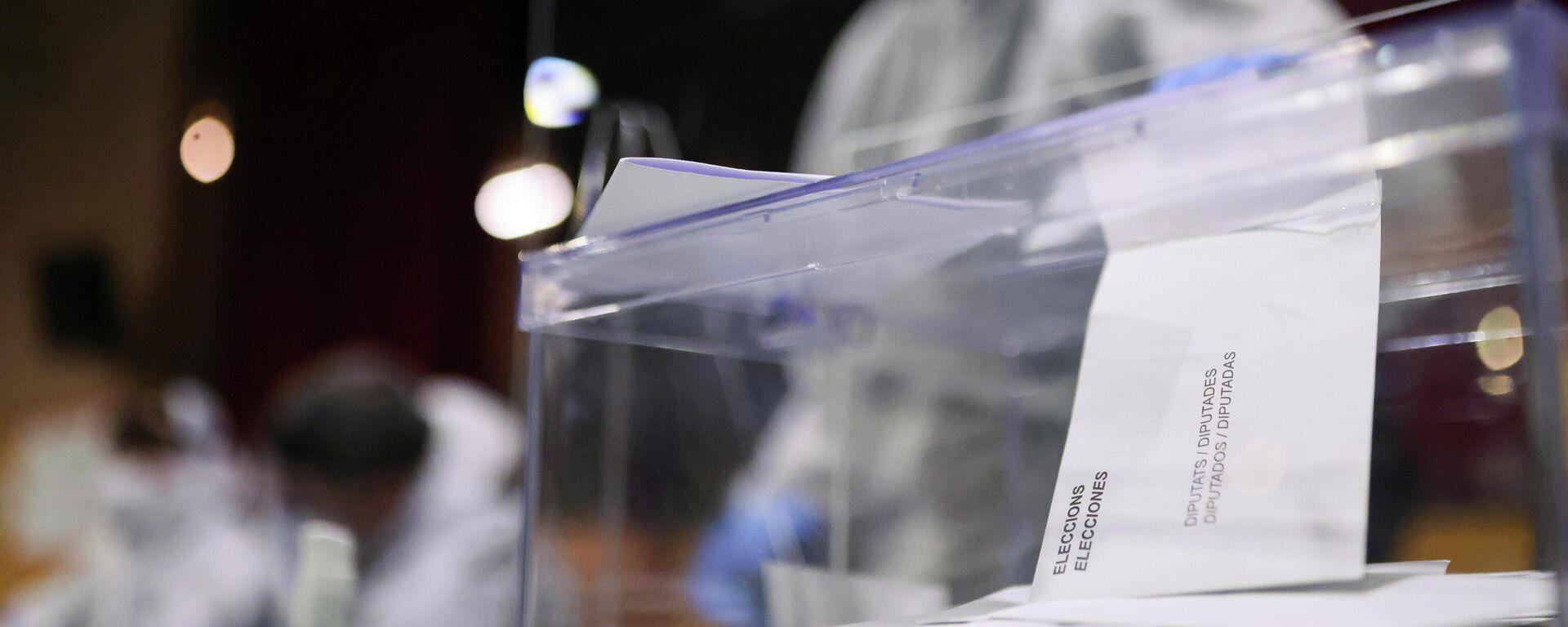 Elecciones parlamentarias en Cataluña - Sputnik Mundo, 1920, 16.02.2021