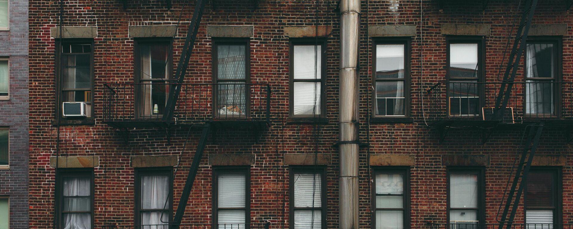 Un edificio de apartamentos, imagen ilustrativa - Sputnik Mundo, 1920, 16.02.2021