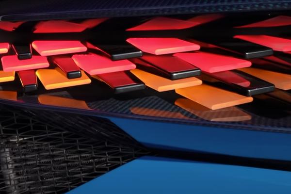 Luces traseras del Bugatti Divo - Sputnik Mundo