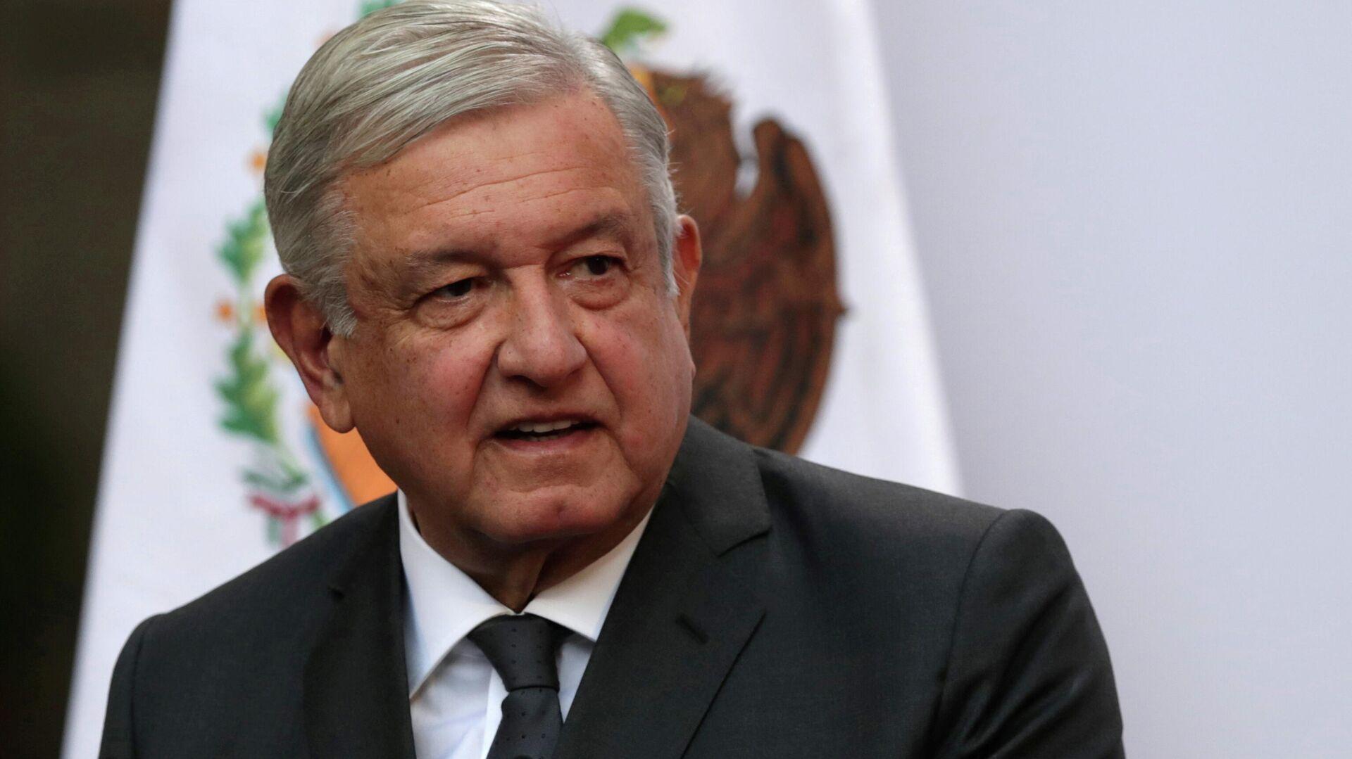 El presidente de México, Andrés Manuel López Obrador - Sputnik Mundo, 1920, 18.03.2021
