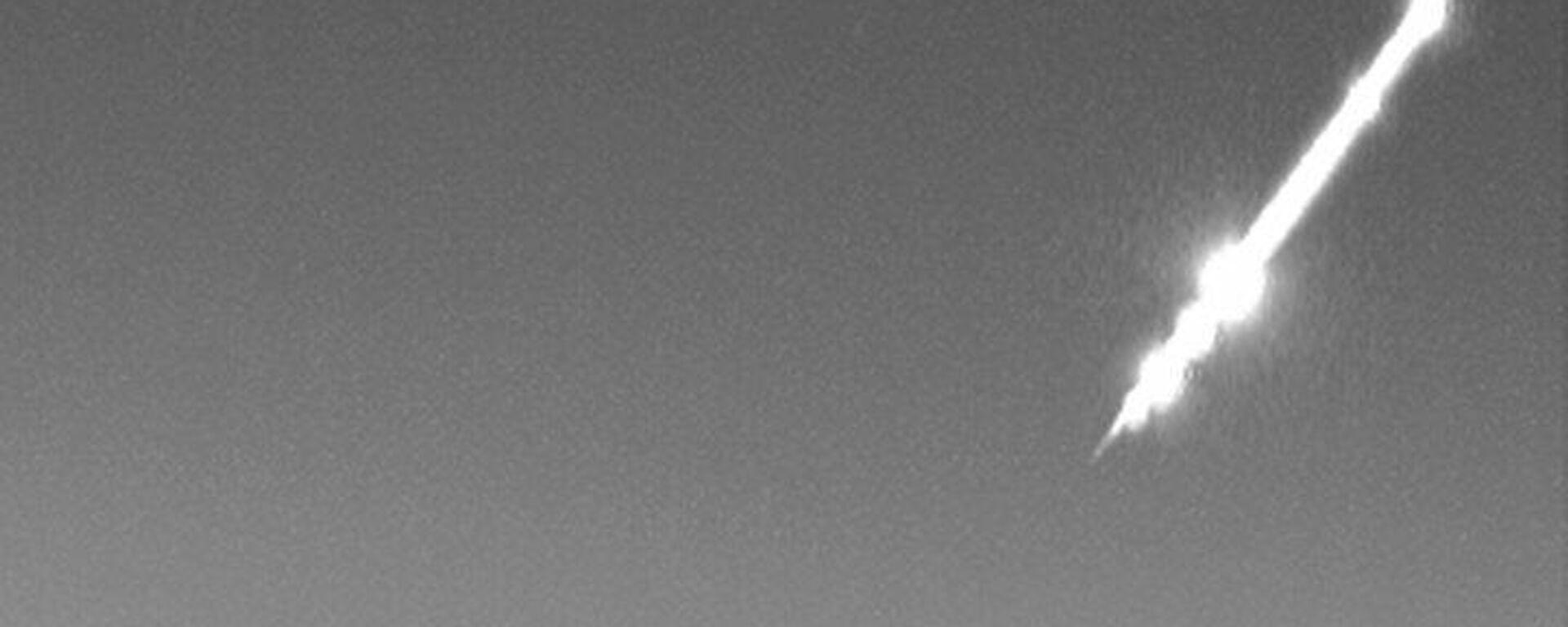 Bola de fuego vista el 16 de febrero en Andalucía - Sputnik Mundo, 1920, 16.03.2021
