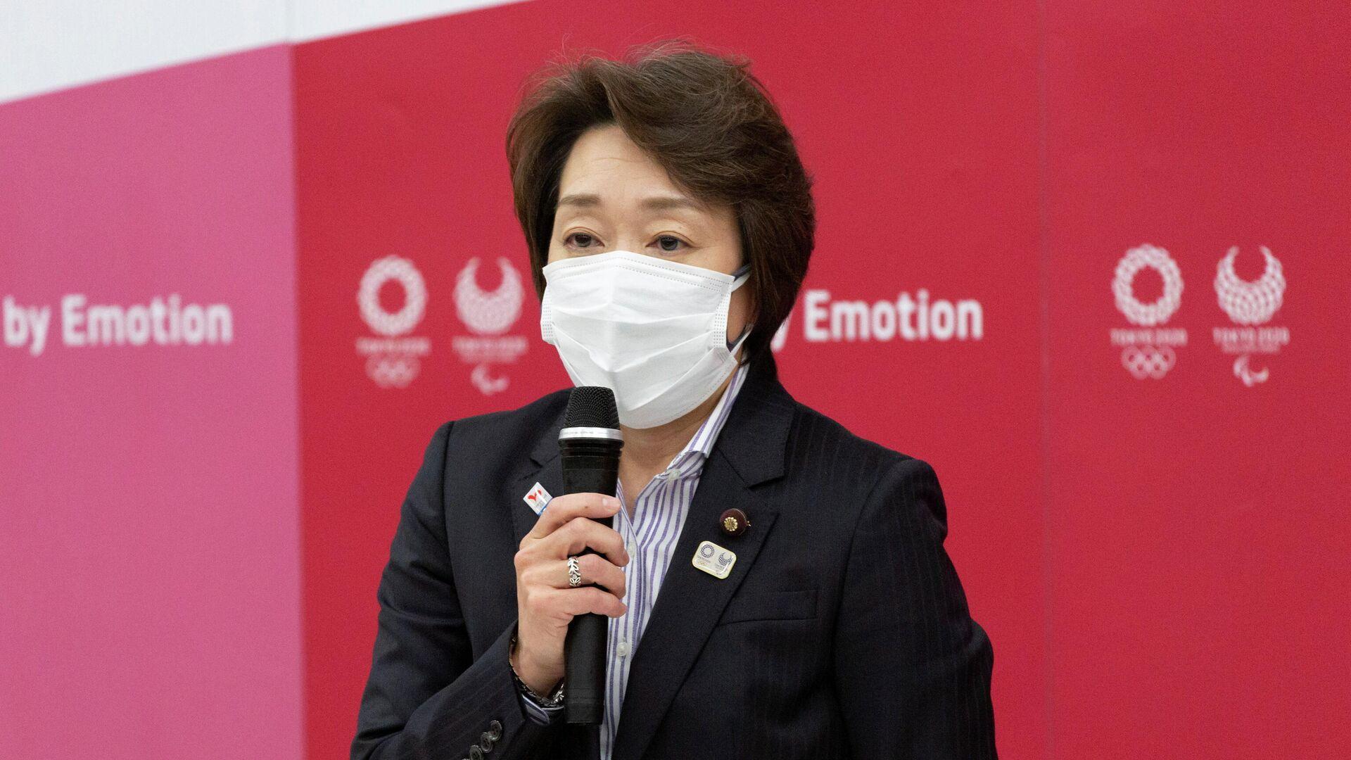 Seiko Hashimoto, presidenta del comité organizador de los JJOO - Sputnik Mundo, 1920, 18.02.2021