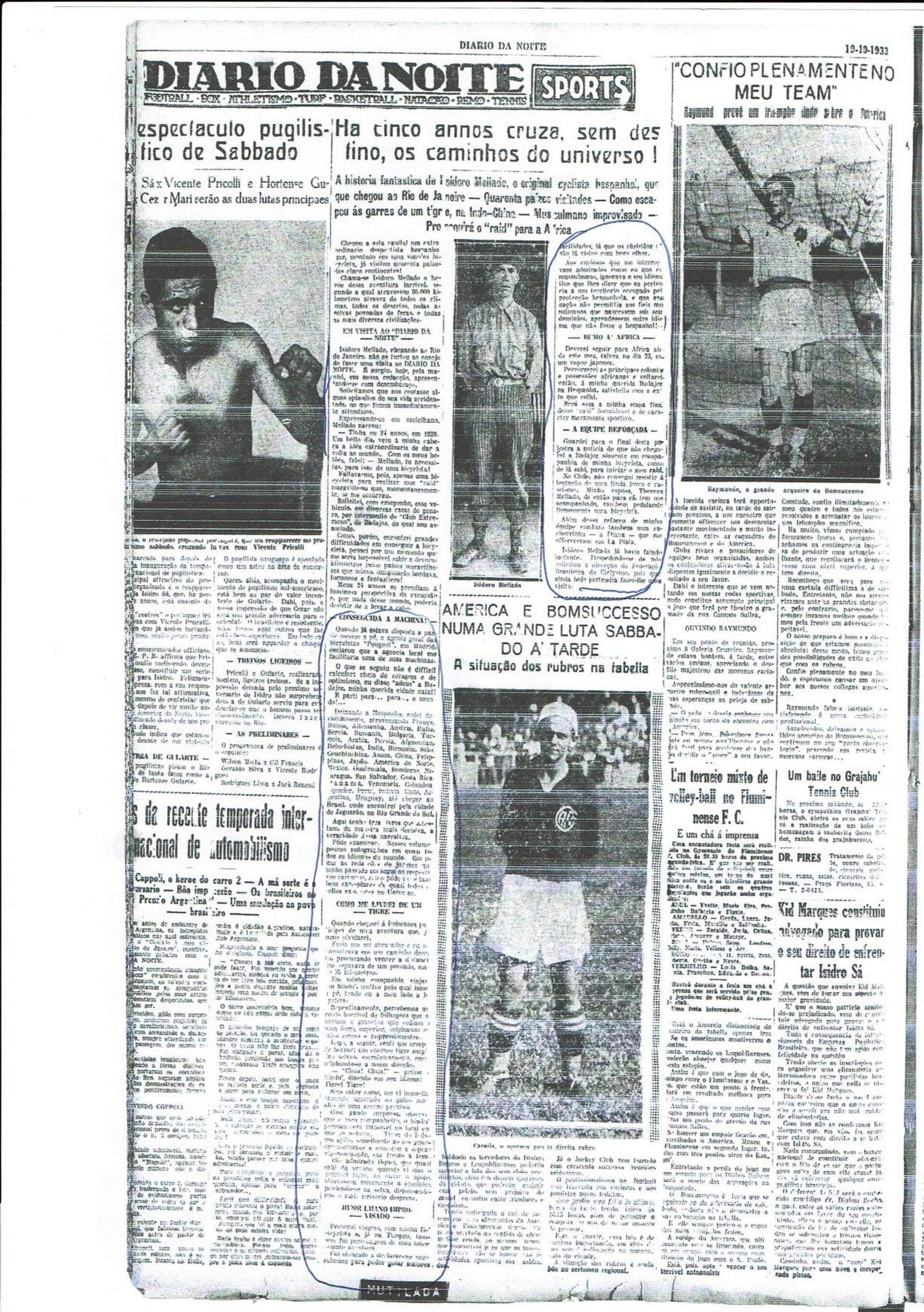 Recorte de prensa del 'Diario Da Norte' brasileño - Sputnik Mundo, 1920, 18.02.2021