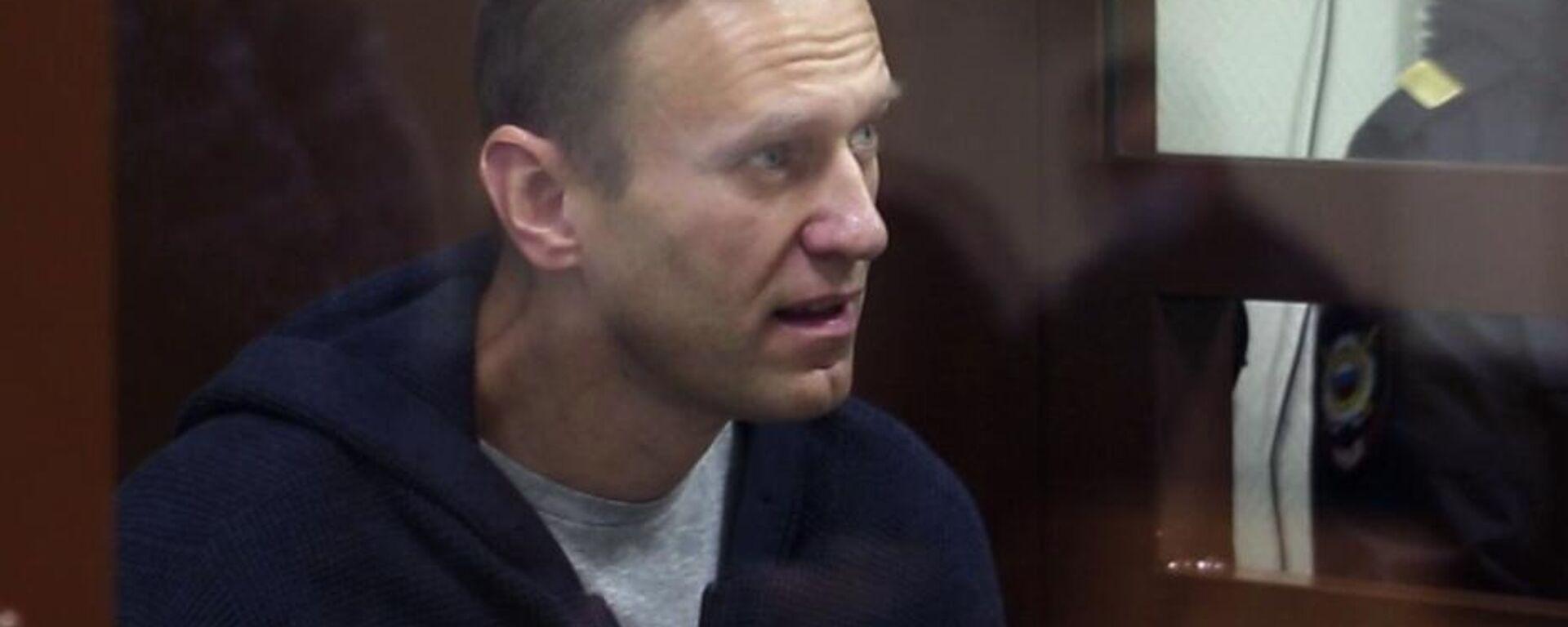 Alexéi Navalni, bloguero opositor ruso - Sputnik Mundo, 1920, 08.10.2021