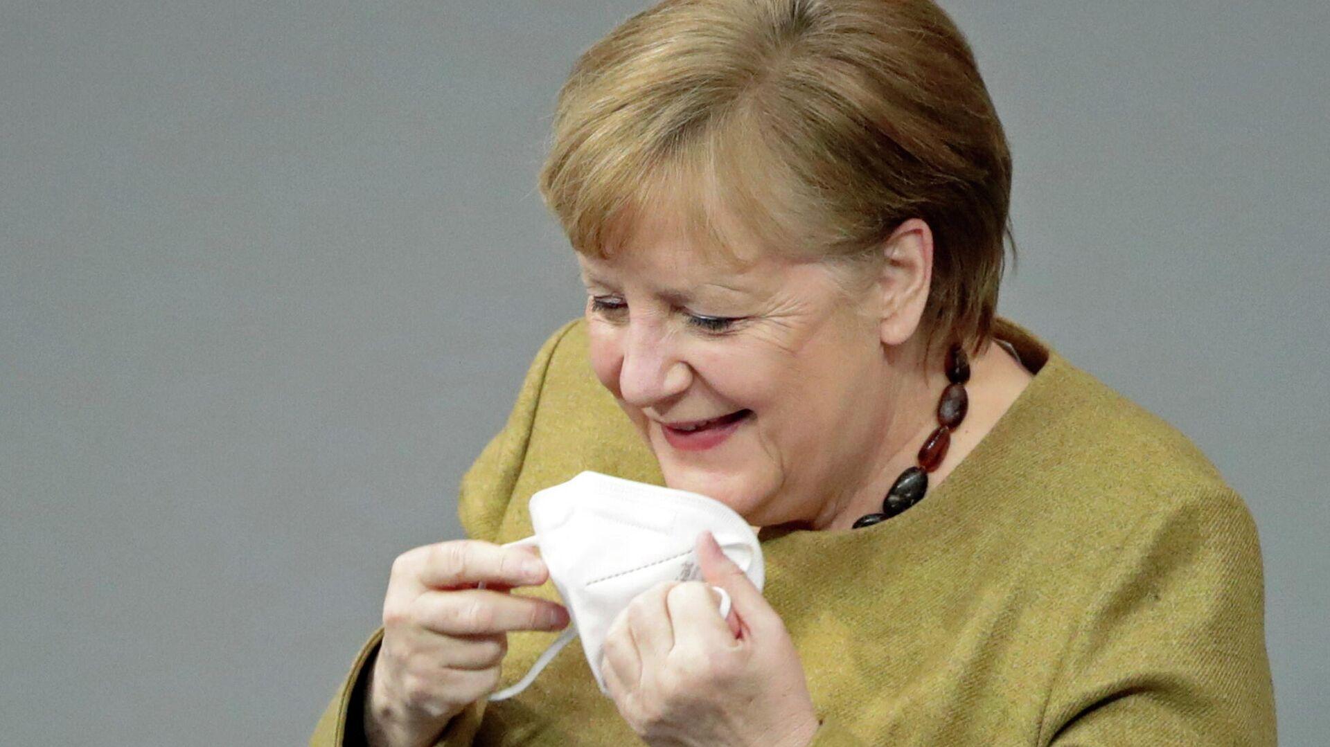 Angela Merkel, canciller alemana - Sputnik Mundo, 1920, 18.02.2021