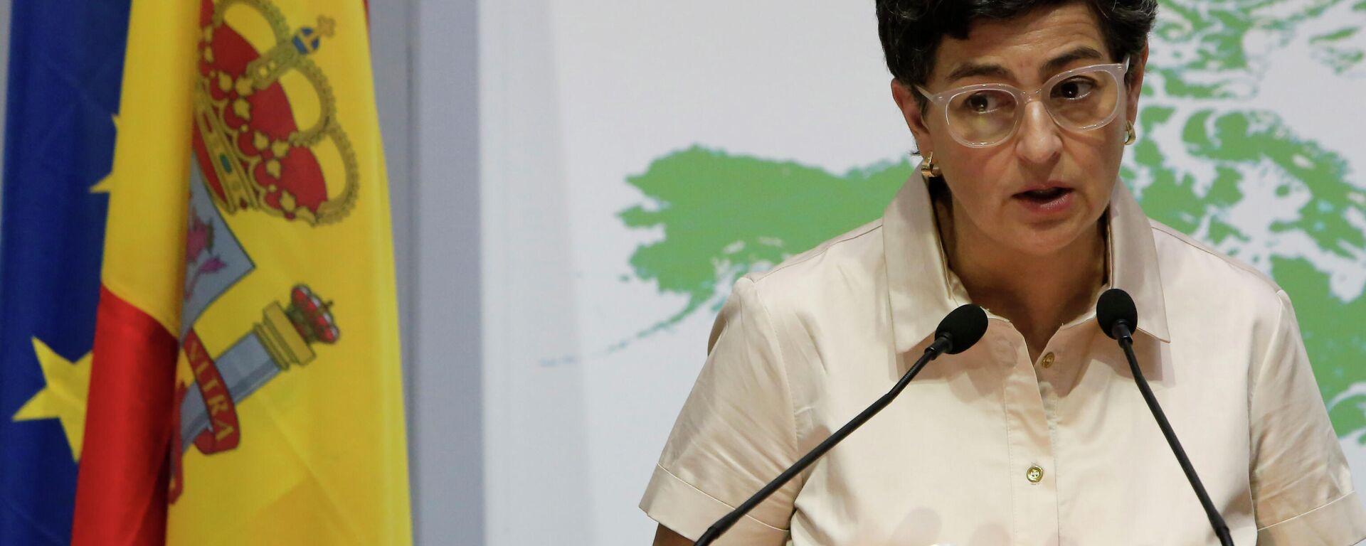 Arancha González Laya, ministra de Asuntos Exteriores de España - Sputnik Mundo, 1920, 23.09.2021