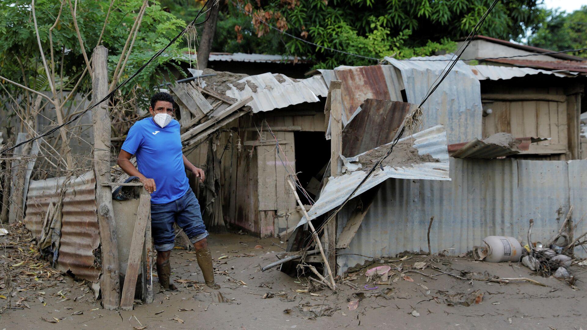 Consecuencias de las huracanes en Honduras - Sputnik Mundo, 1920, 19.02.2021
