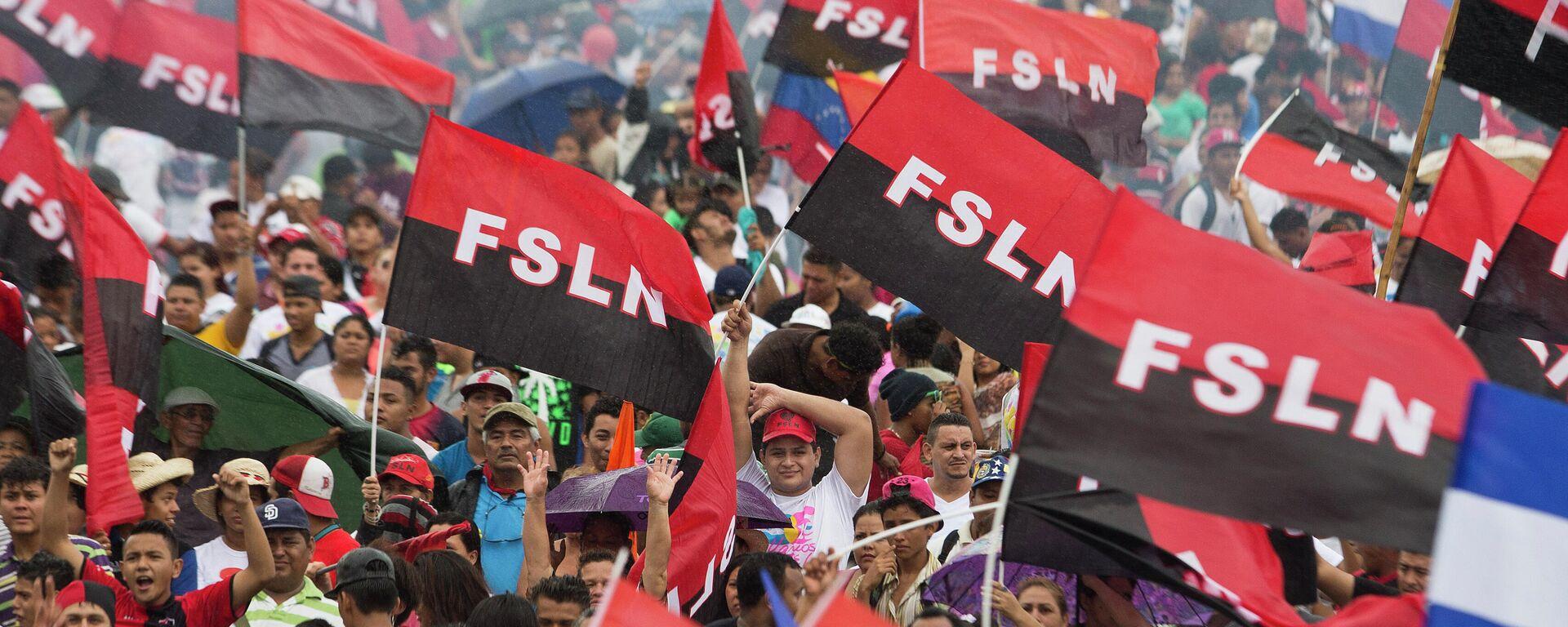Partidarios del Frente Sandinista de Liberación Nacional (FSLN) - Sputnik Mundo, 1920, 31.08.2021