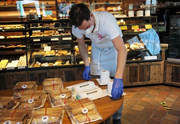 Schuerener Backparadies ofrece una amplia variedad de productos que no se puede encontrar en todas las panaderías. - Sputnik Mundo