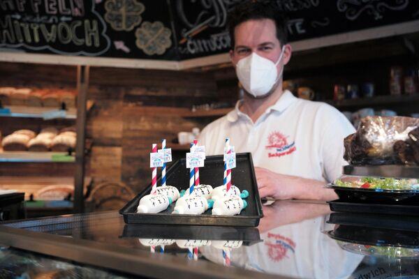 La cafetería dona los ingresos a la caridad para combatir la enfermedad. - Sputnik Mundo