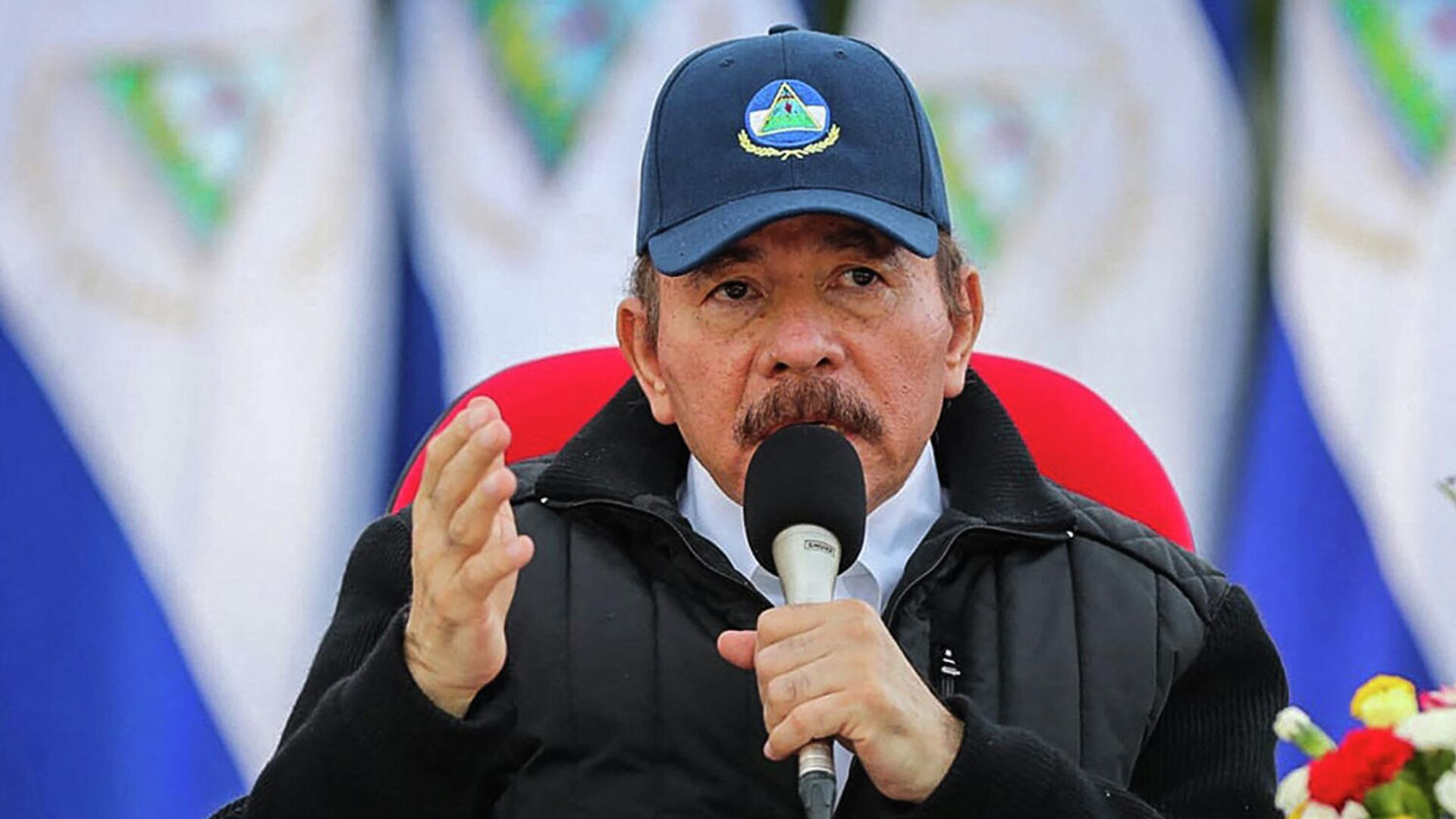 Daniel Ortega, presidente de Nicaragua - Sputnik Mundo, 1920, 12.10.2021