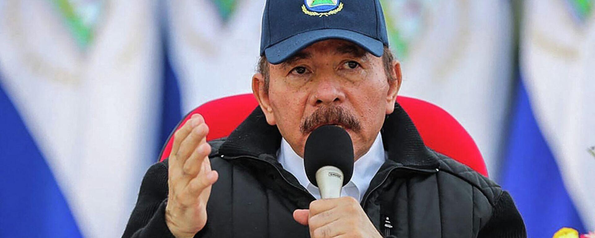 Daniel Ortega, presidente de Nicaragua - Sputnik Mundo, 1920, 11.09.2021