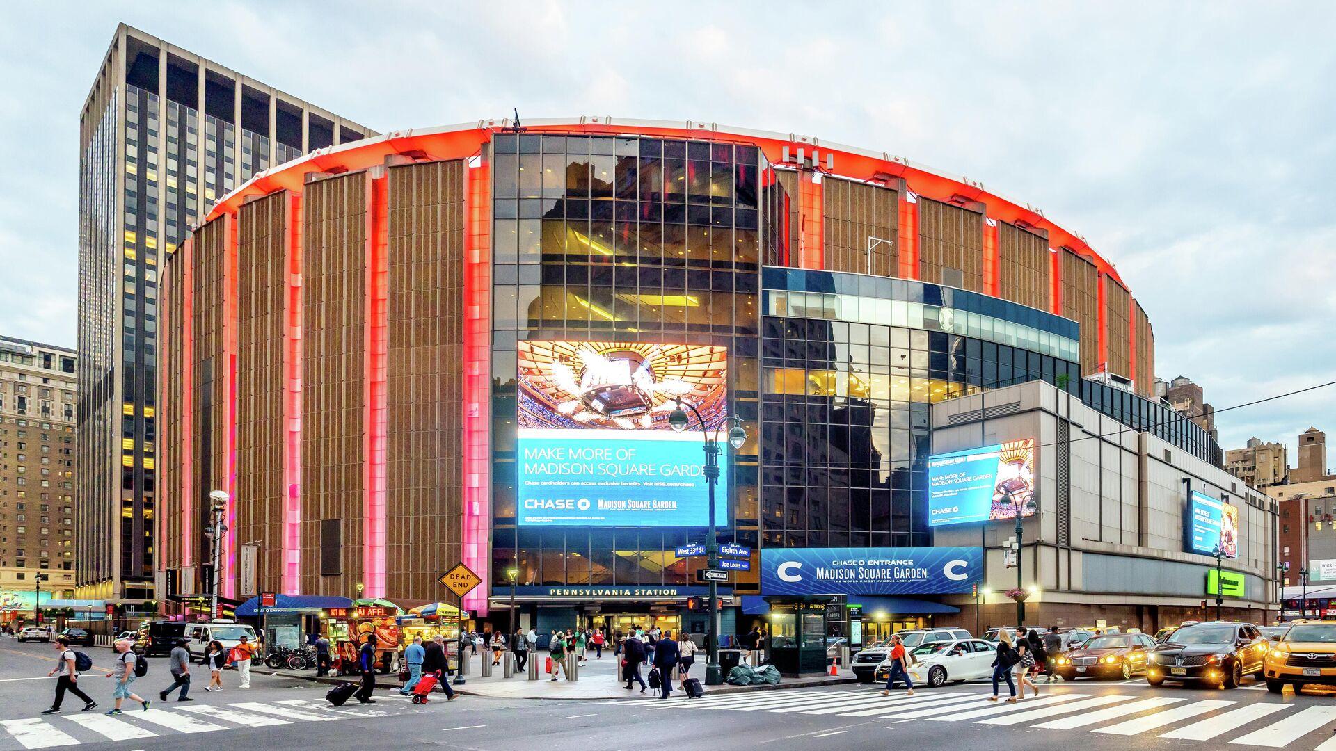 El estadio Madison Square Garden, foto de archivo - Sputnik Mundo, 1920, 23.02.2021