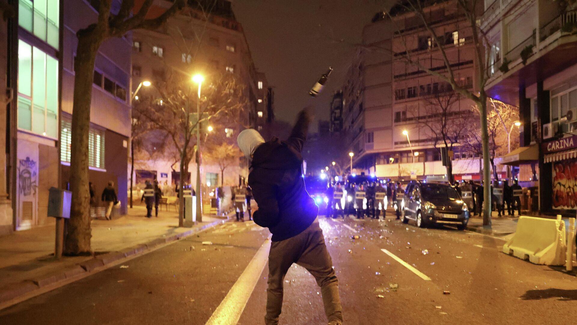 Protestas en Barcelona - Sputnik Mundo, 1920, 23.02.2021