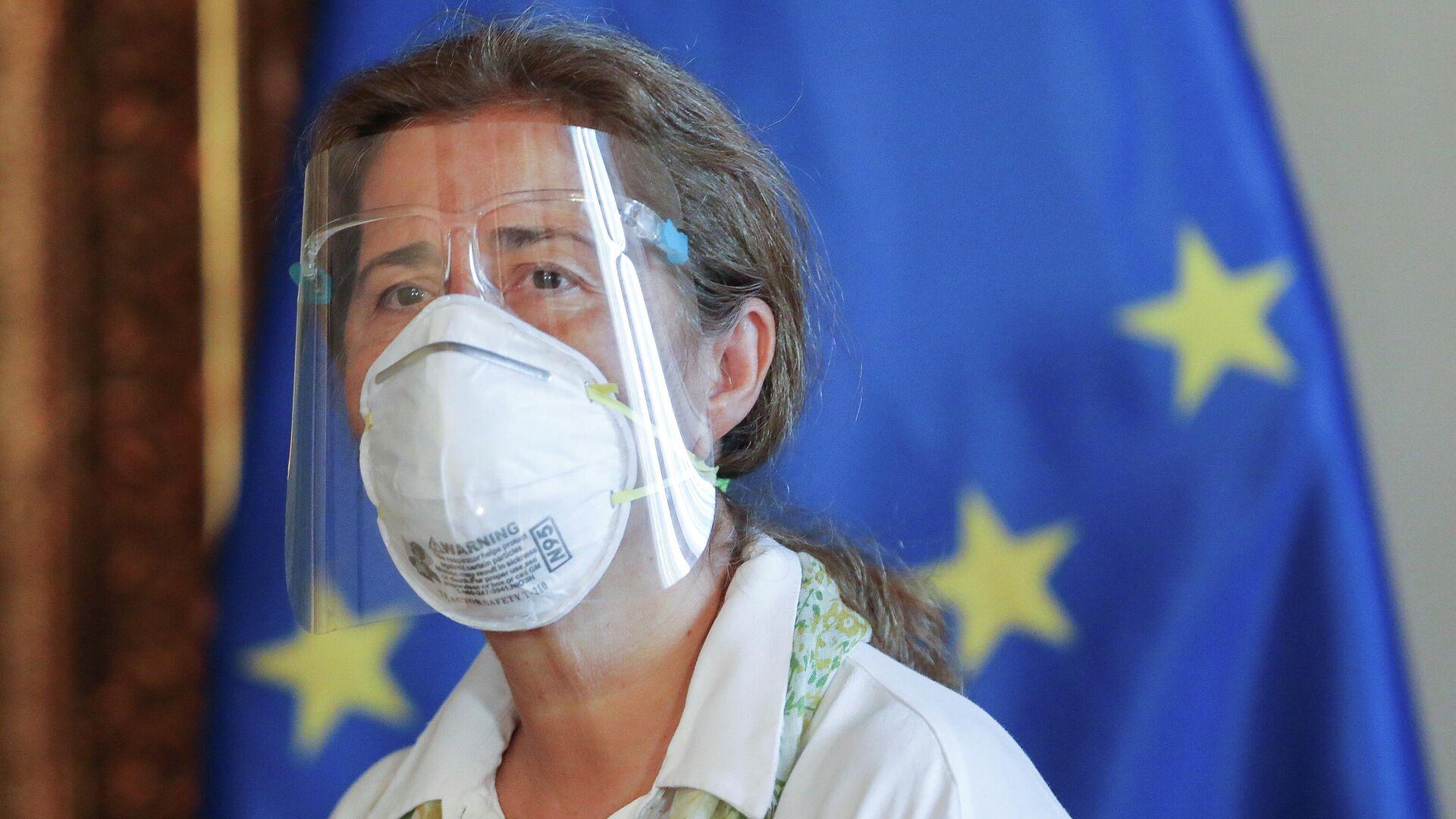 Isabel Brilhante,  la jefa de la delegación de la UE en Venezuela - Sputnik Mundo, 1920, 02.03.2021