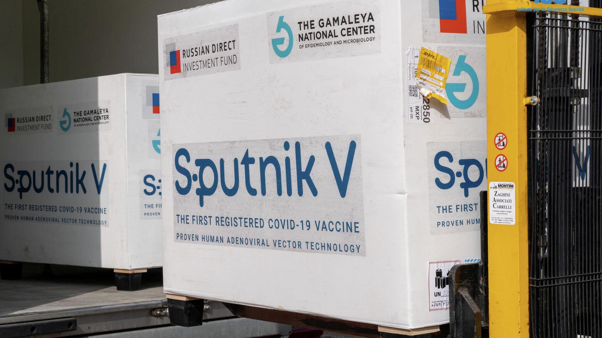 La vacuna Sputnik V en San Marino - Sputnik Mundo, 1920, 04.08.2021
