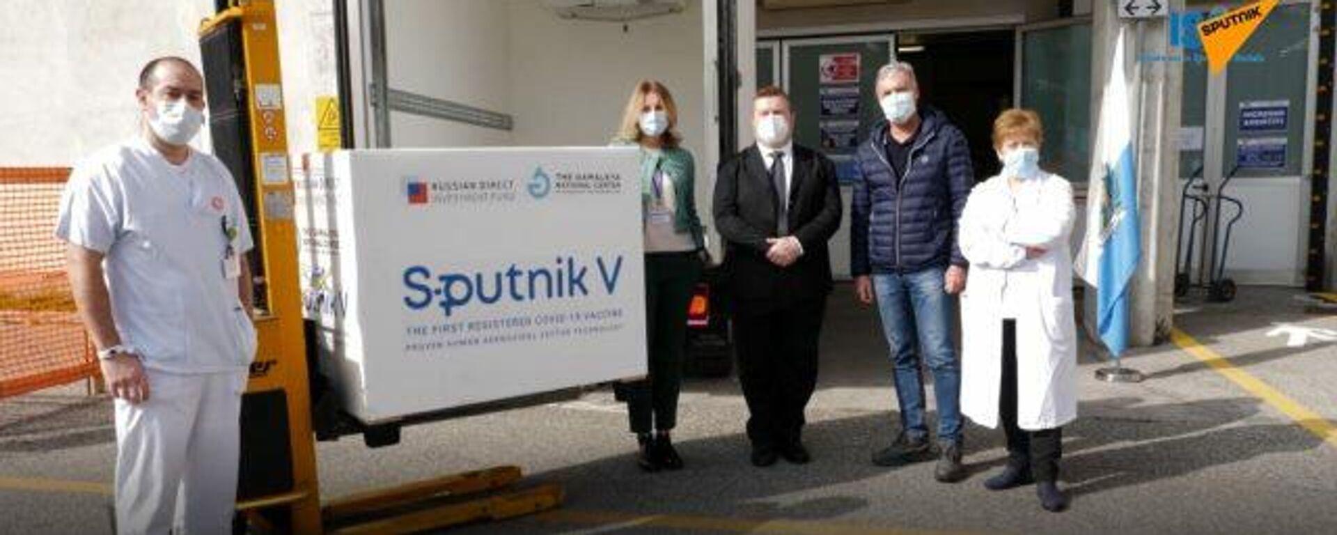 San Marino empieza la campaña de vacunación con la Sputnik V - Sputnik Mundo, 1920, 25.02.2021