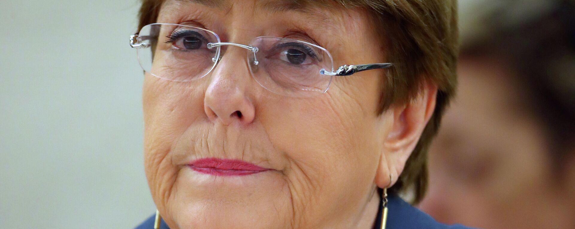 Michelle Bachelet, Alta Comisionada de la ONU para los DDHH - Sputnik Mundo, 1920, 21.07.2021