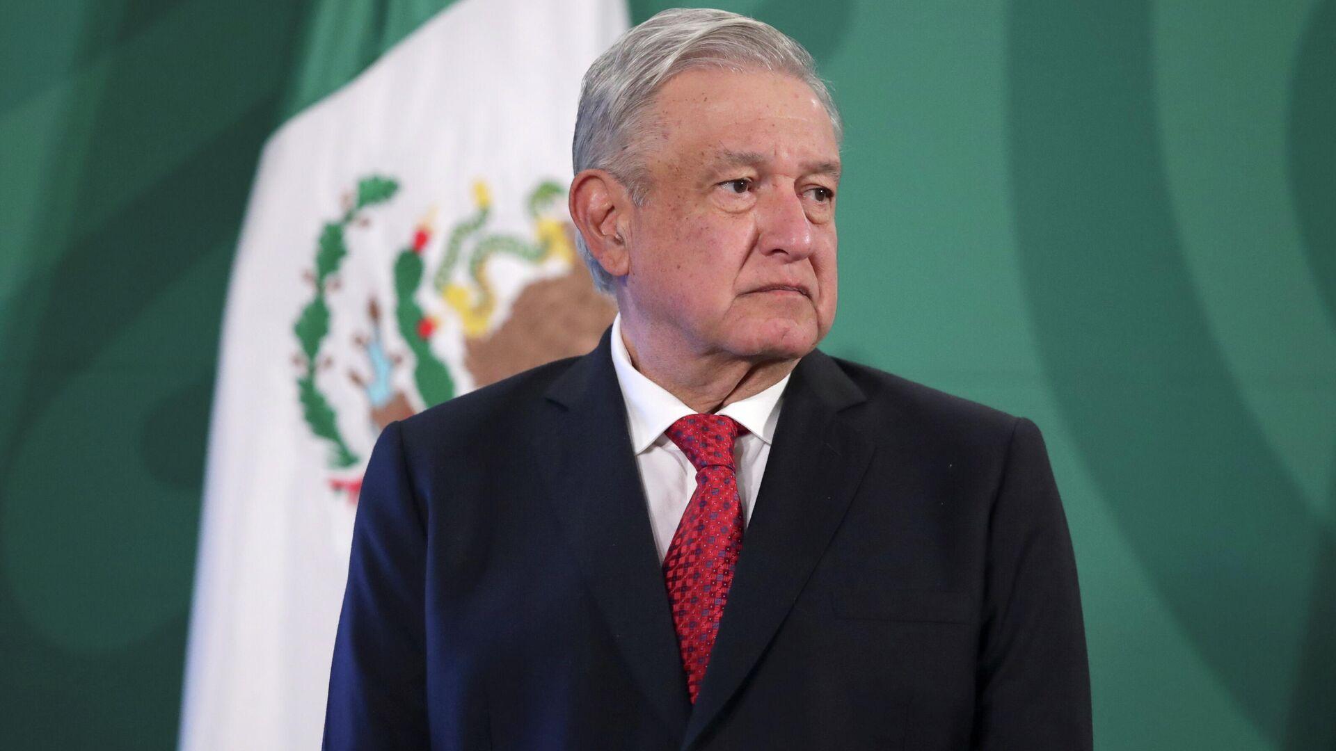 Andrés Manuel López Obrador, presidente de México - Sputnik Mundo, 1920, 24.09.2021