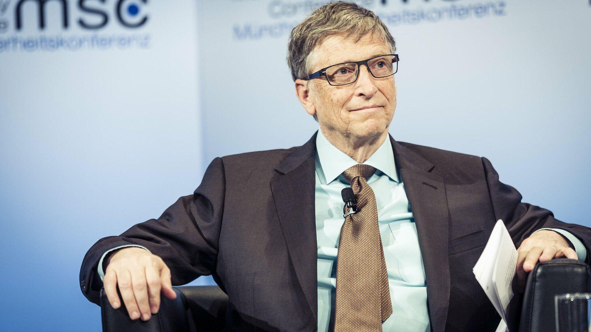 El fundador de Microsoft Bill Gates (archivo) - Sputnik Mundo, 1920, 14.09.2021