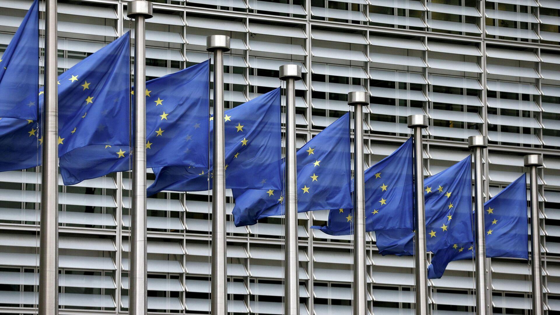 Bandera de la UE - Sputnik Mundo, 1920, 04.10.2021