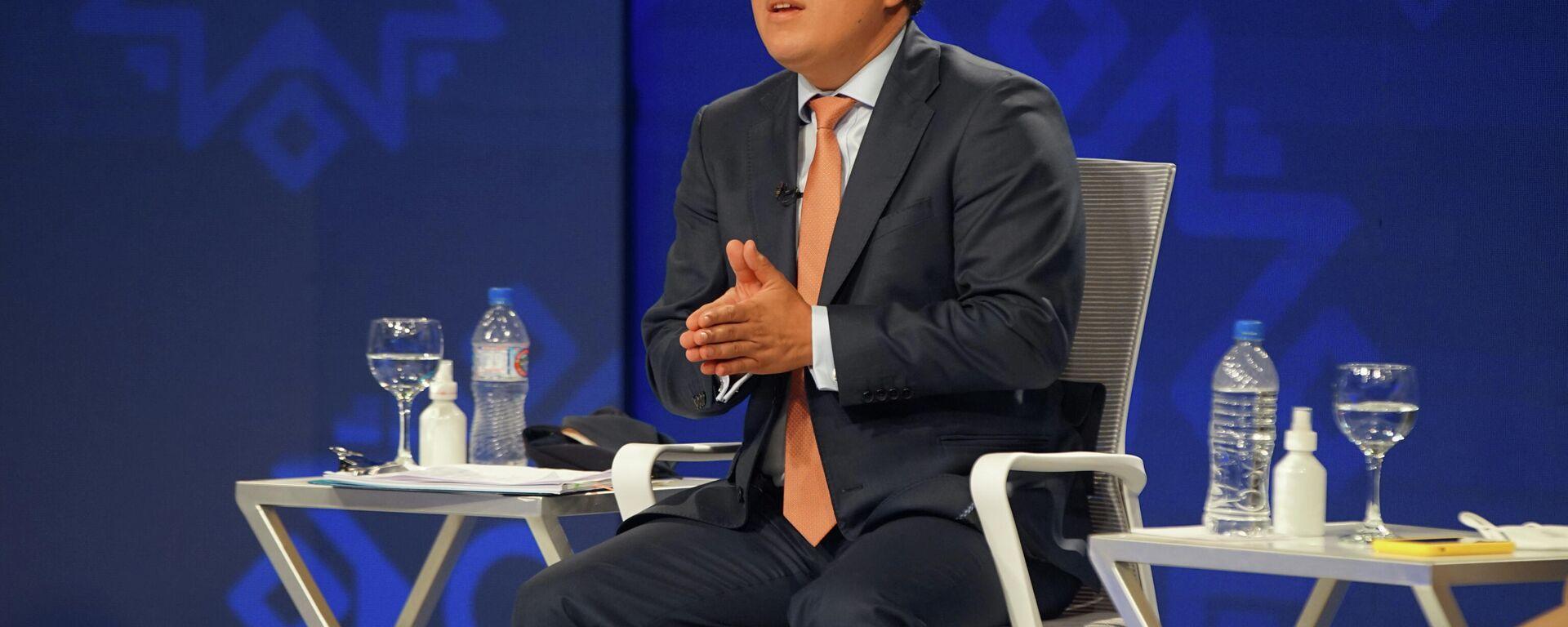 Andrés Arauz, candidato presidencial ecuatoriano por UNES - Sputnik Mundo, 1920, 27.02.2021