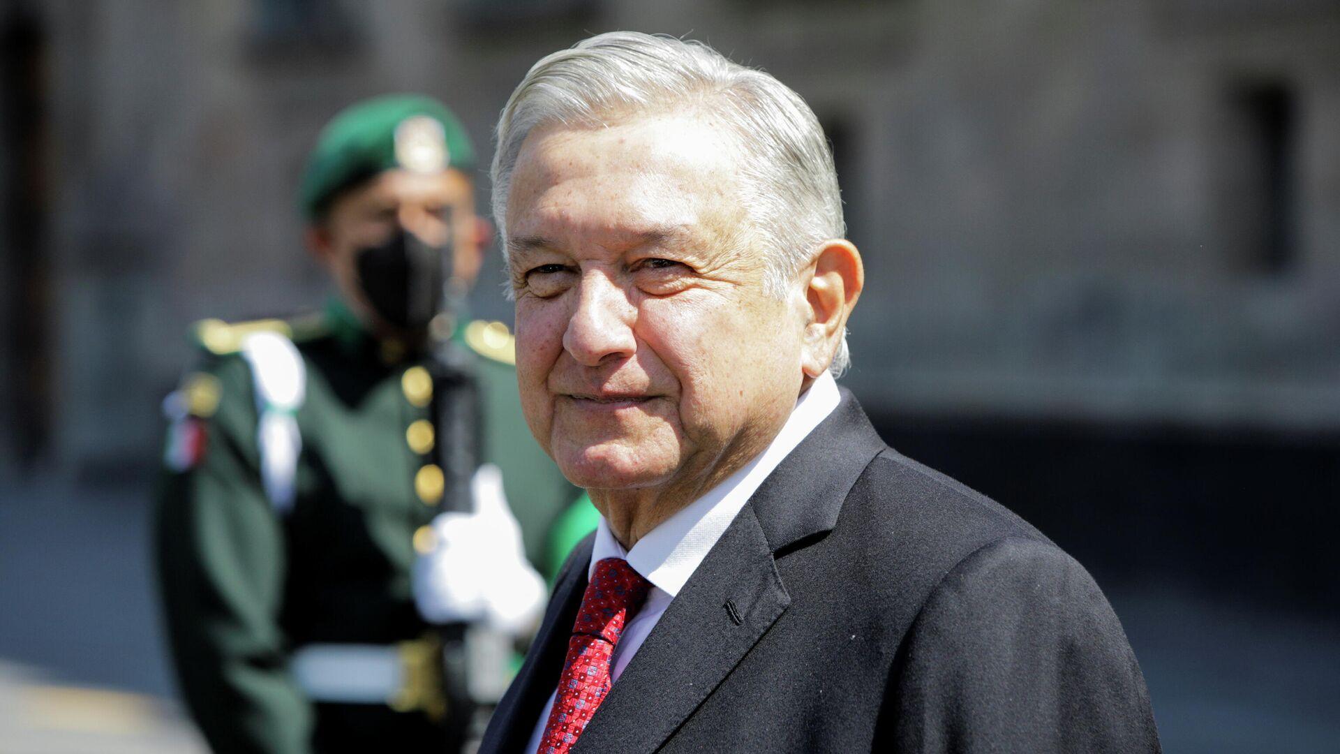 Andrés Manuel López Obrador, presidente de México - Sputnik Mundo, 1920, 24.03.2021