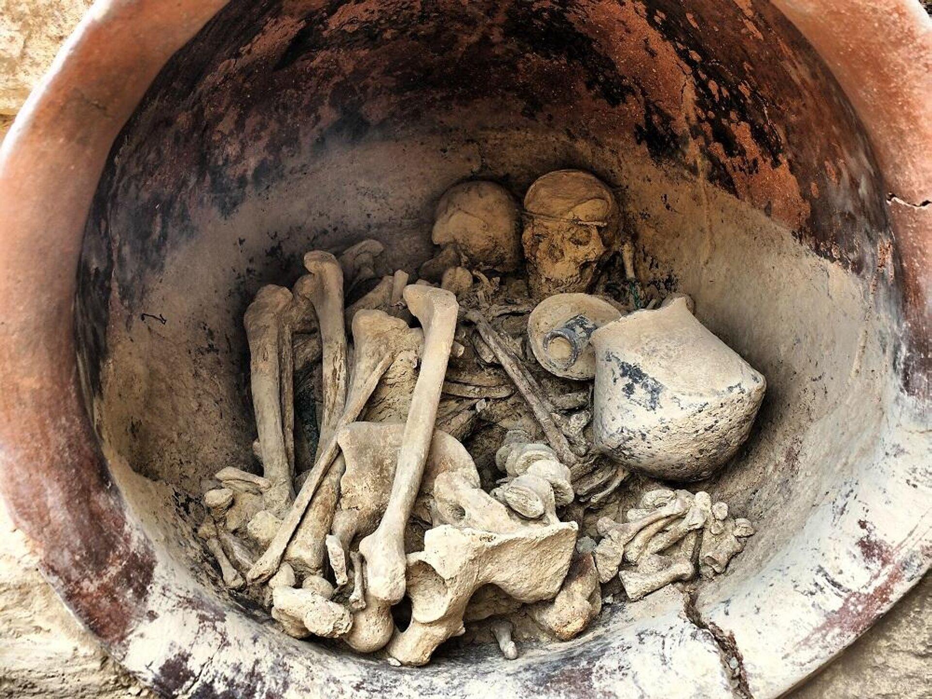 Restos humanos de La Almoloya  - Sputnik Mundo, 1920, 12.03.2021