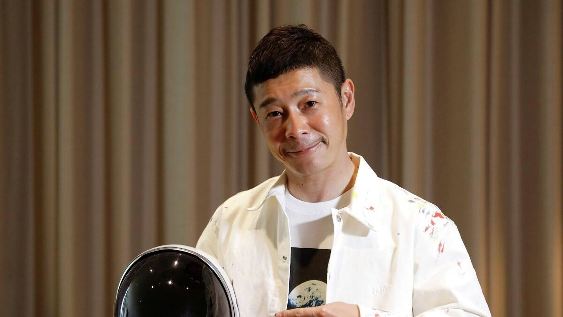 Yusaku Maezawa, el multimillonario japonés que será el primer turista lunar - Sputnik Mundo, 1920, 03.03.2021