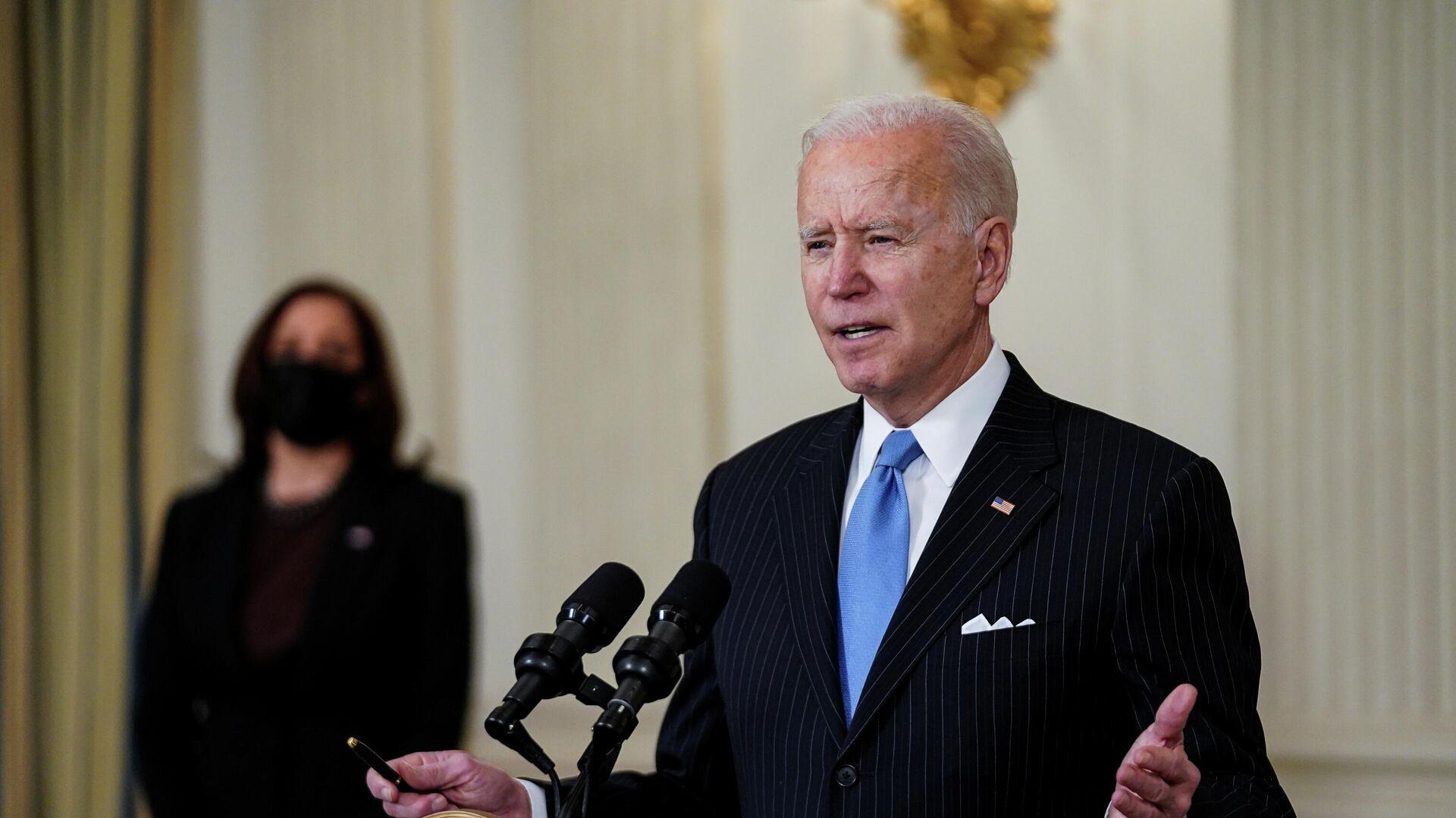 Joe Biden, presidente de EEUU - Sputnik Mundo, 1920, 18.03.2021