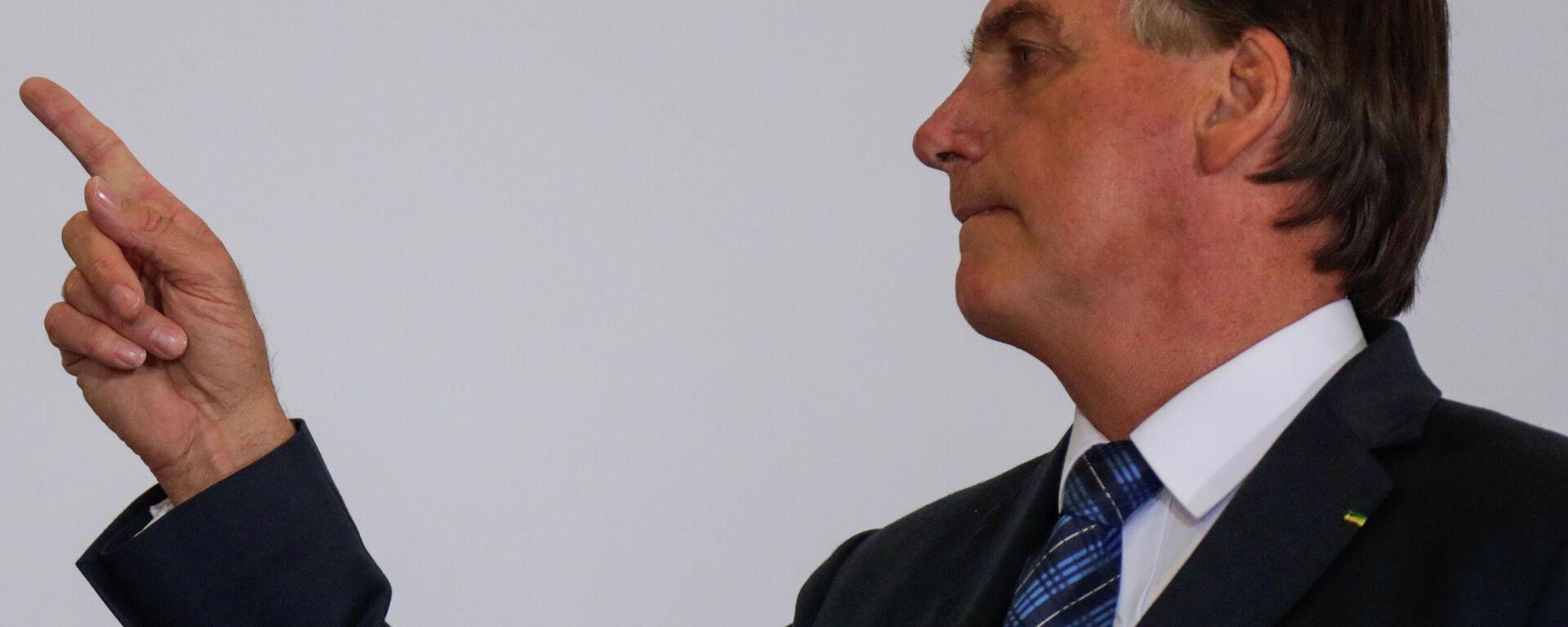 Jair Bolsonaro, presidente de Brasil - Sputnik Mundo, 1920, 04.03.2021