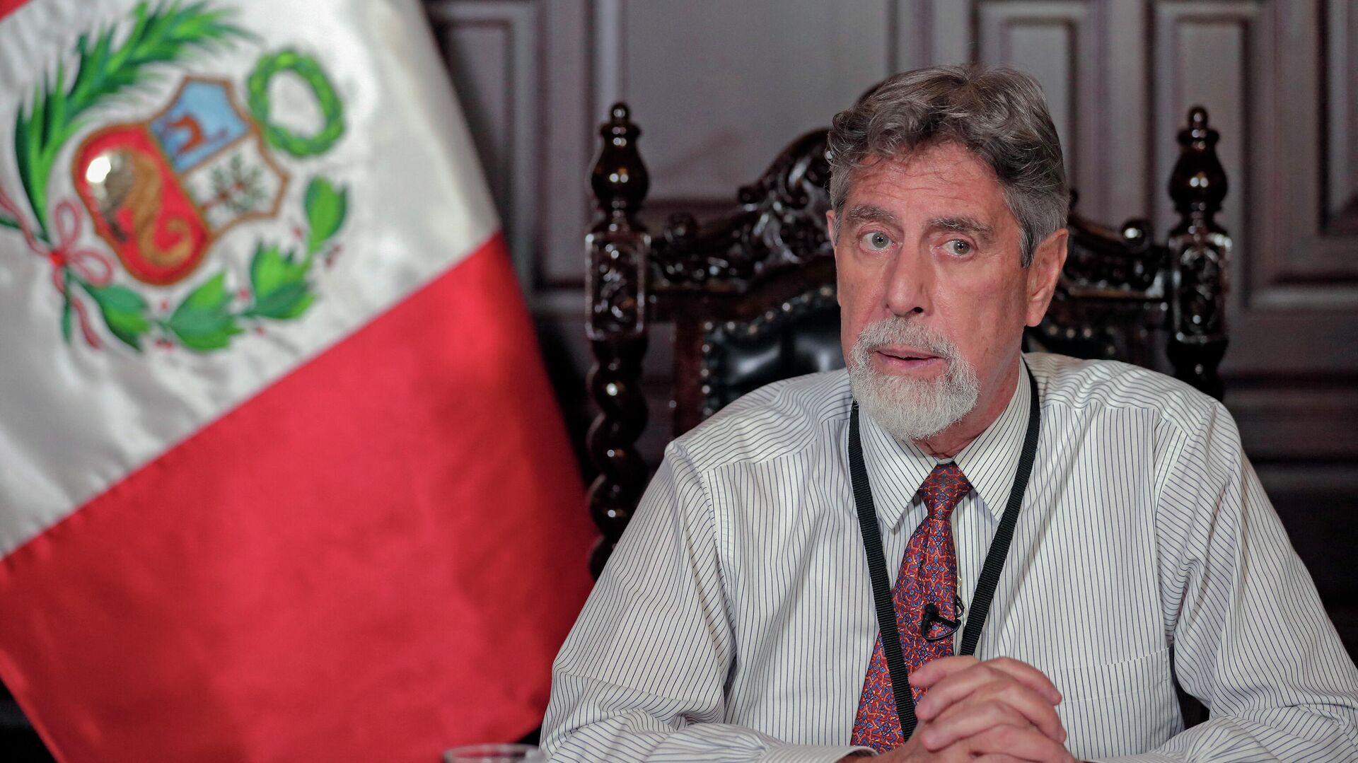 Francisco Sagasti, presidente de Perú - Sputnik Mundo, 1920, 29.03.2021