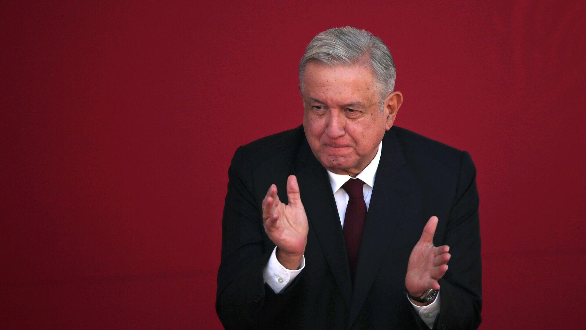 Andrés Manuel López Obrador, presidente de México - Sputnik Mundo, 1920, 05.03.2021