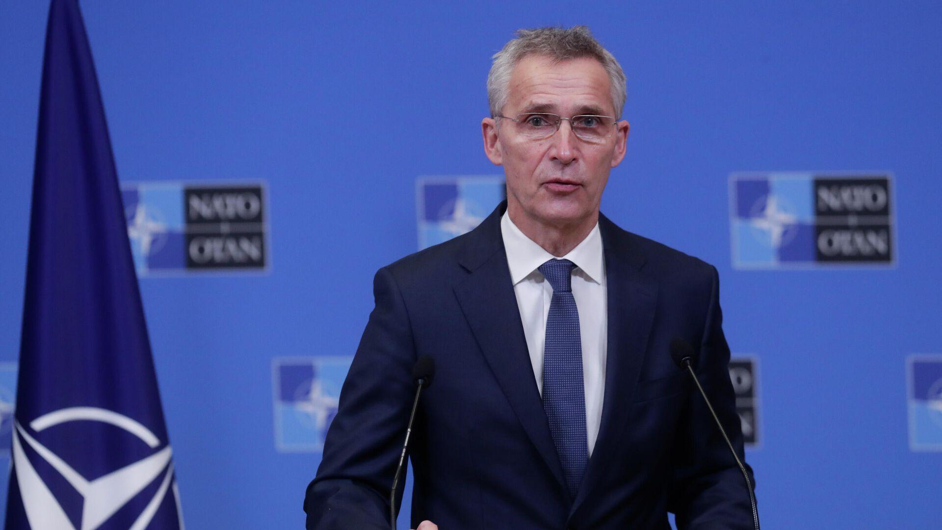 El secretario general de la OTAN, Jens Stoltenberg - Sputnik Mundo, 1920, 04.10.2021