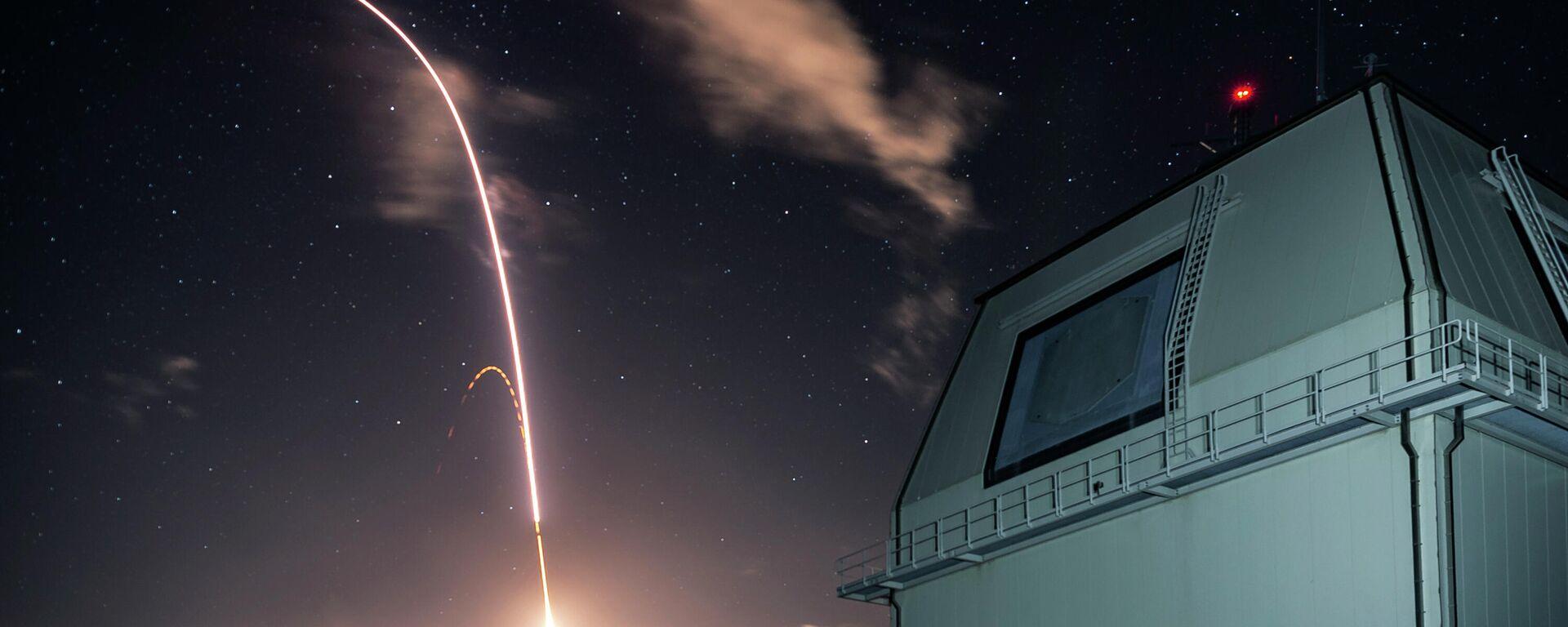El lanzamiento del sistema de defensa antimisiles Aegis Ashore del Ejército de EEUU, en la isla de Kauai en Hawai - Sputnik Mundo, 1920, 05.03.2021