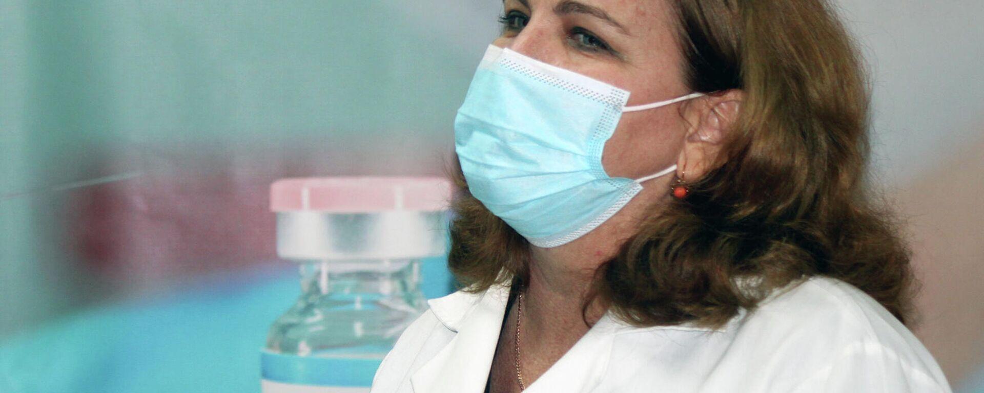 La doctora Dagmar García, directora de investigaciones del Instituto Finlay de Vacunas, de Cuba - Sputnik Mundo, 1920, 05.03.2021