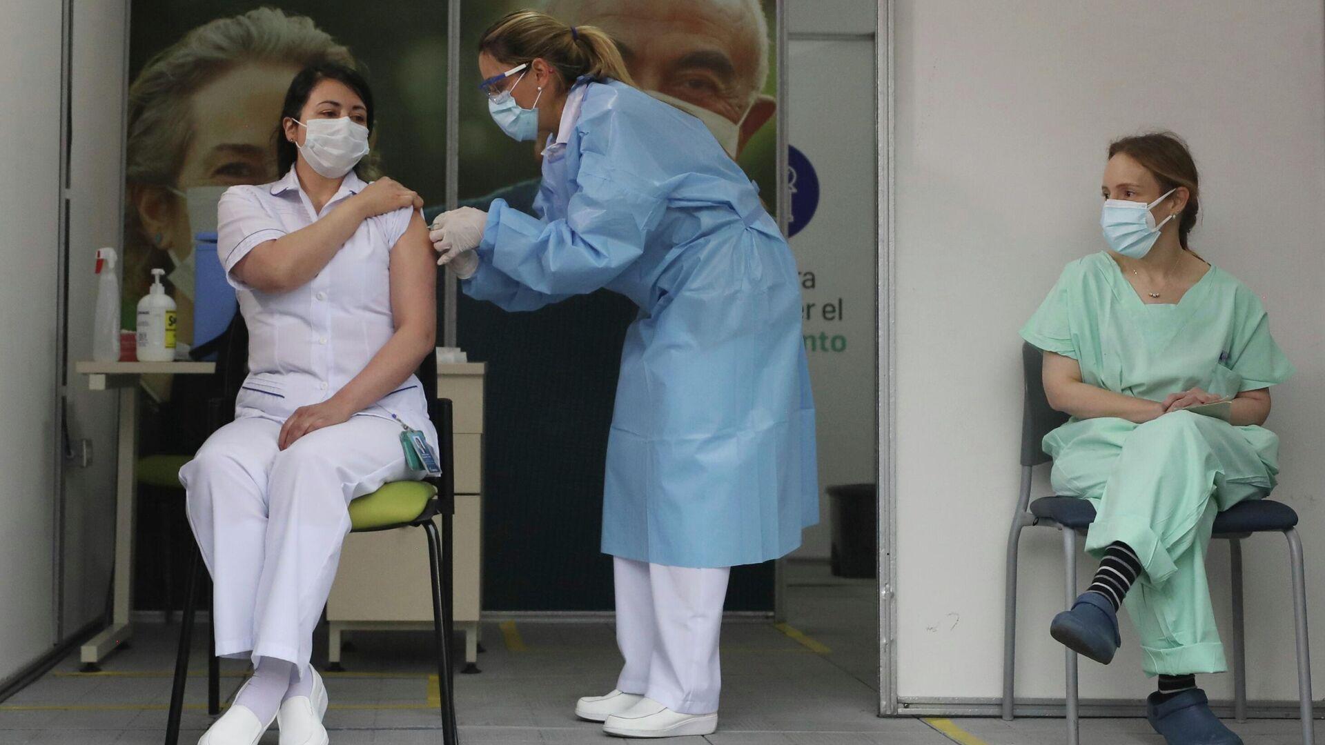 Vacunación en Colombia - Sputnik Mundo, 1920, 24.07.2021