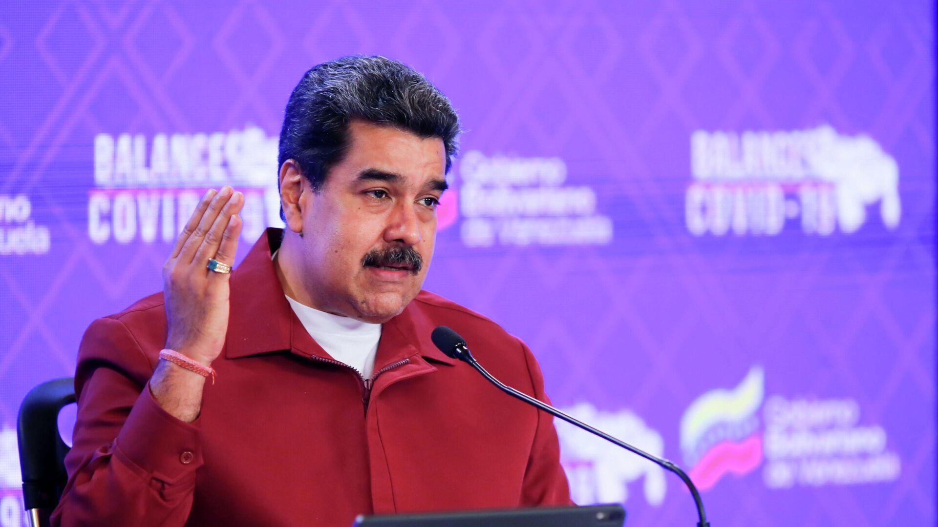 Nicolás Maduro, presidente de Venezuela - Sputnik Mundo, 1920, 26.03.2021