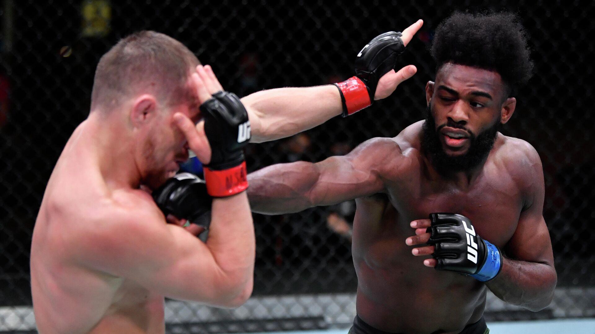 La pelea entre Piotr Yan y Aljamain Sterling durante la UFC 259 - Sputnik Mundo, 1920, 07.03.2021