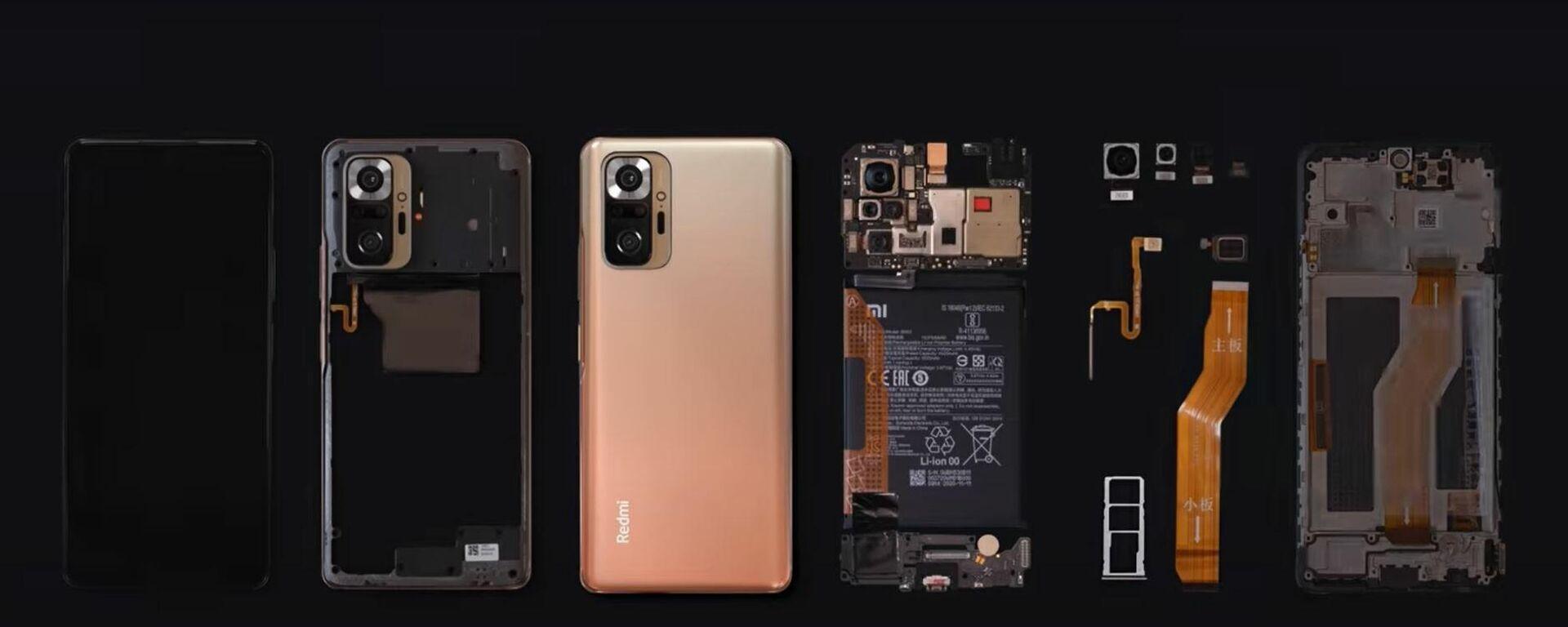 El Redmi Note 10 Pro de Xiaomi - Sputnik Mundo, 1920, 07.03.2021