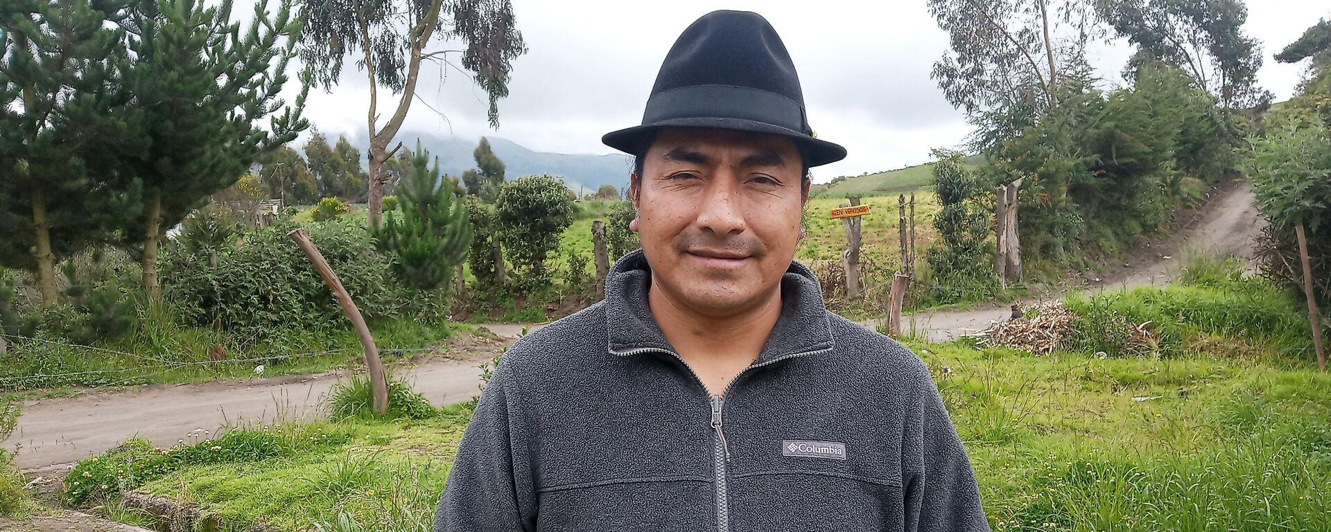Leonidas Iza, dirigente del Movimiento Indígena Campesino de Cotopaxi - Sputnik Mundo, 1920, 26.08.2021