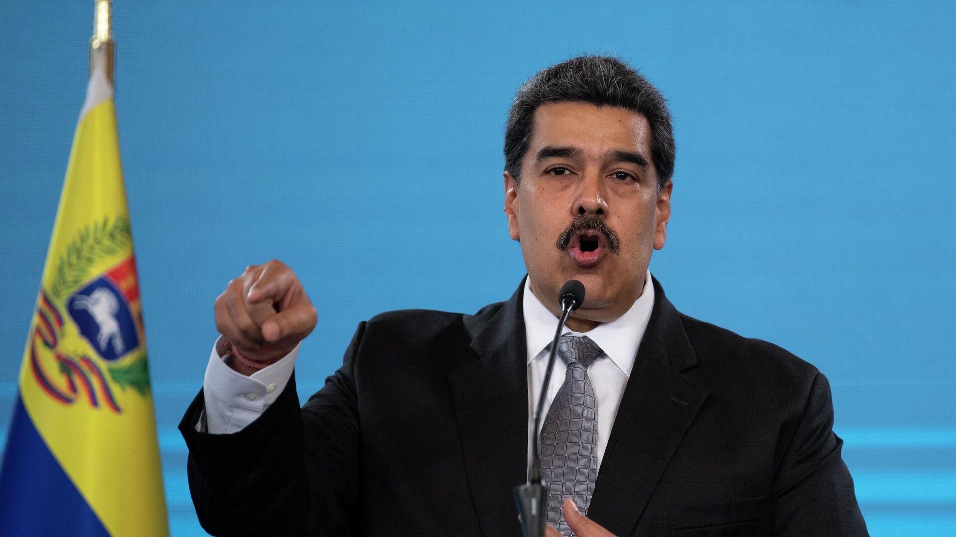 Nicolás Maduro, presidente de Venezuela - Sputnik Mundo, 1920, 28.03.2021