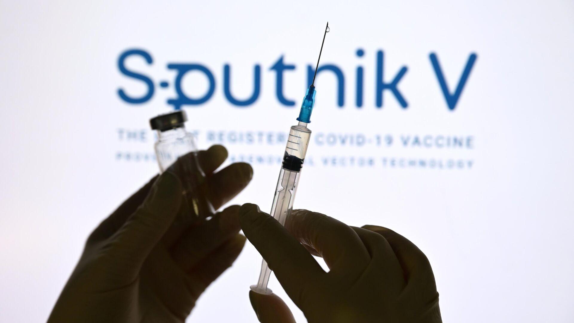 Una dosis de la vacuna rusa Sputnik V - Sputnik Mundo, 1920, 10.03.2021