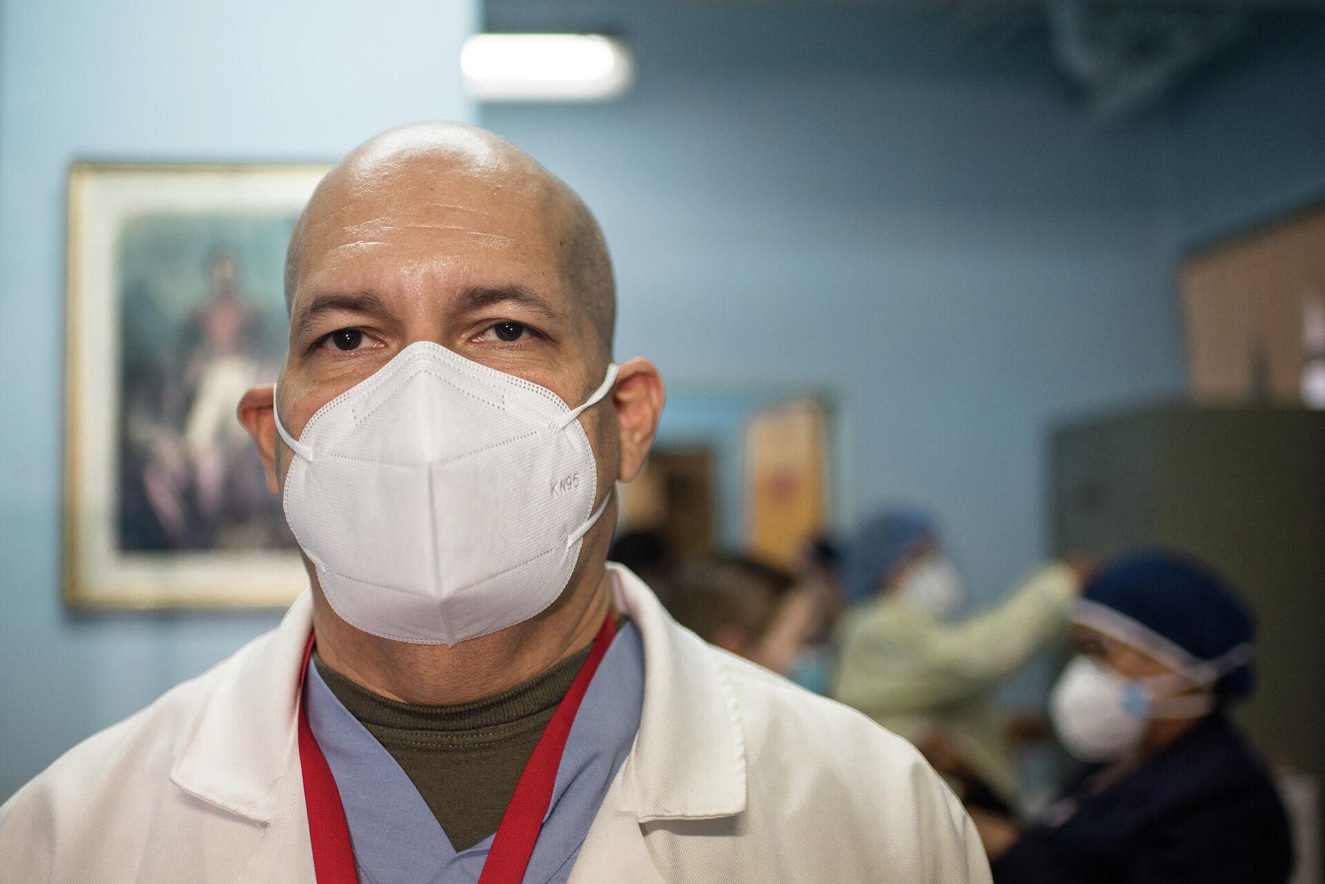 Jairo Silva, director del primer hospital habilitado para la atención de pacientes COVID-19 en Venezuela - Sputnik Mundo, 1920, 10.03.2021